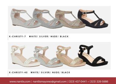 Nantlis Vol BLK27 Zapatos de ninas mayoreo Catalogo Wholesale girls Shoes Page-21