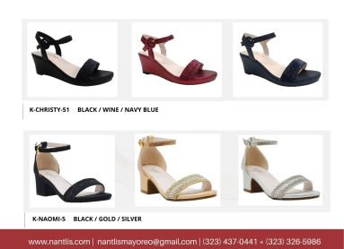 Nantlis Vol BLK27 Zapatos de ninas mayoreo Catalogo Wholesale girls Shoes Page-22