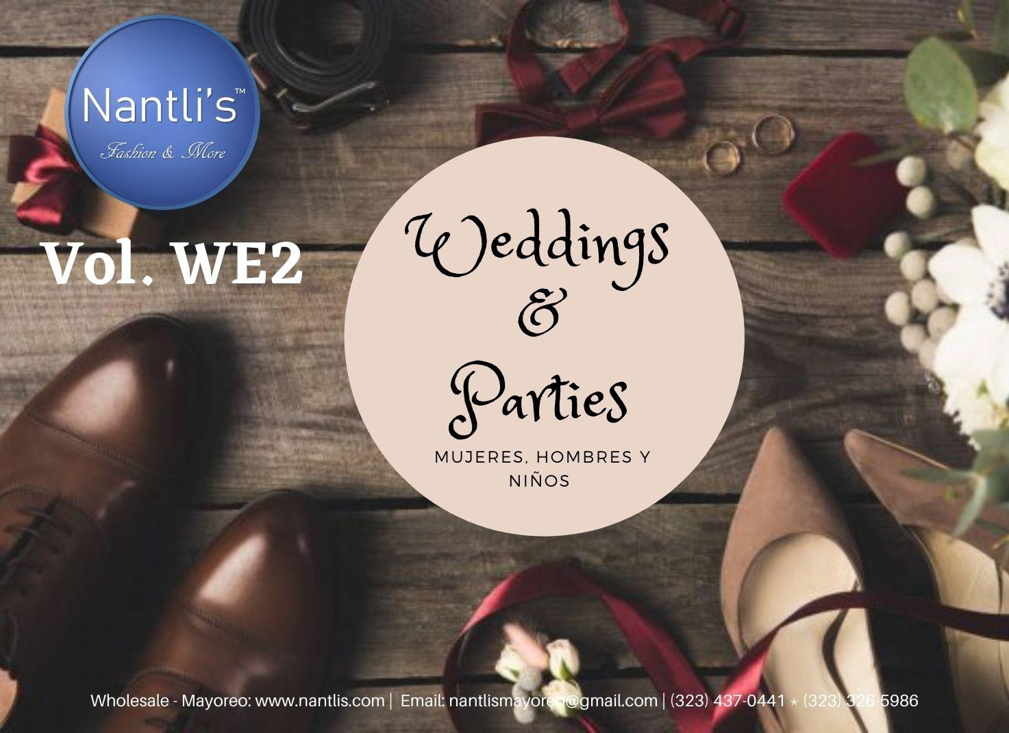 Nantlis Vol WE2 Bodas y Fiestas - Weddings and Parties Page-01