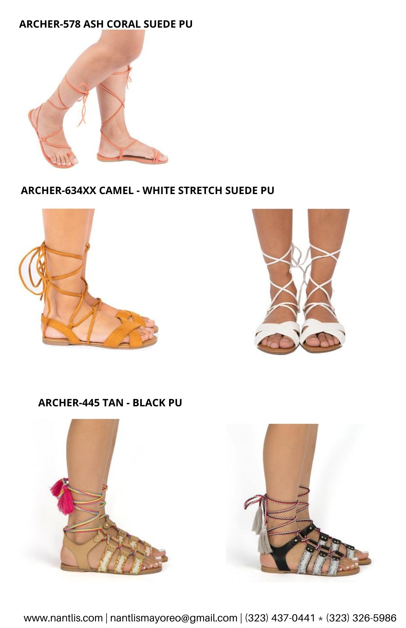 Catalogo Vol QU44 Sandalias de mujer mayoreo Wholesale Sandals page 02