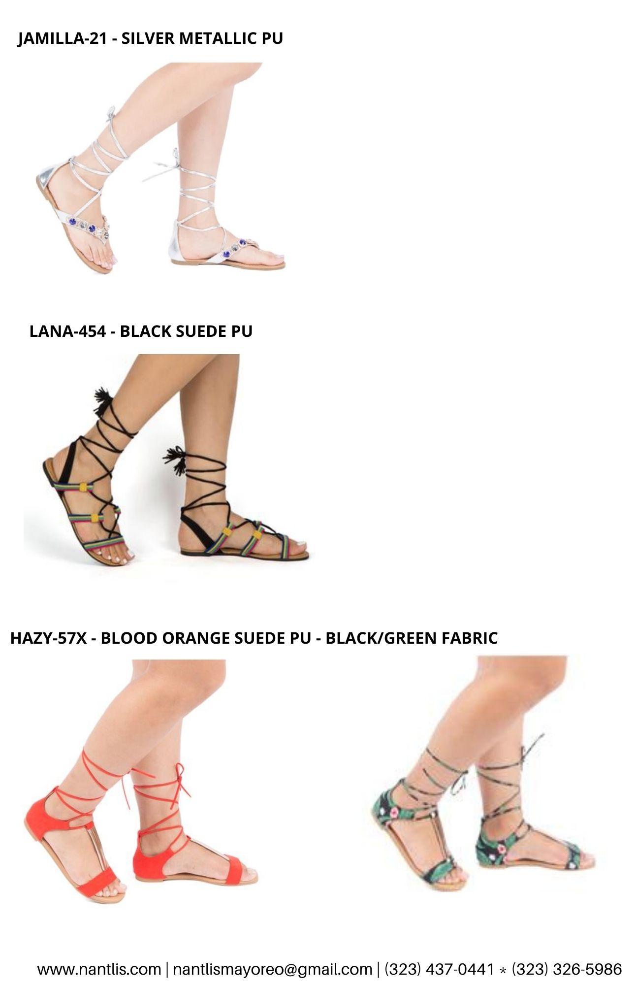 Catalogo Vol QU44 Sandalias de mujer mayoreo Wholesale Sandals page 03