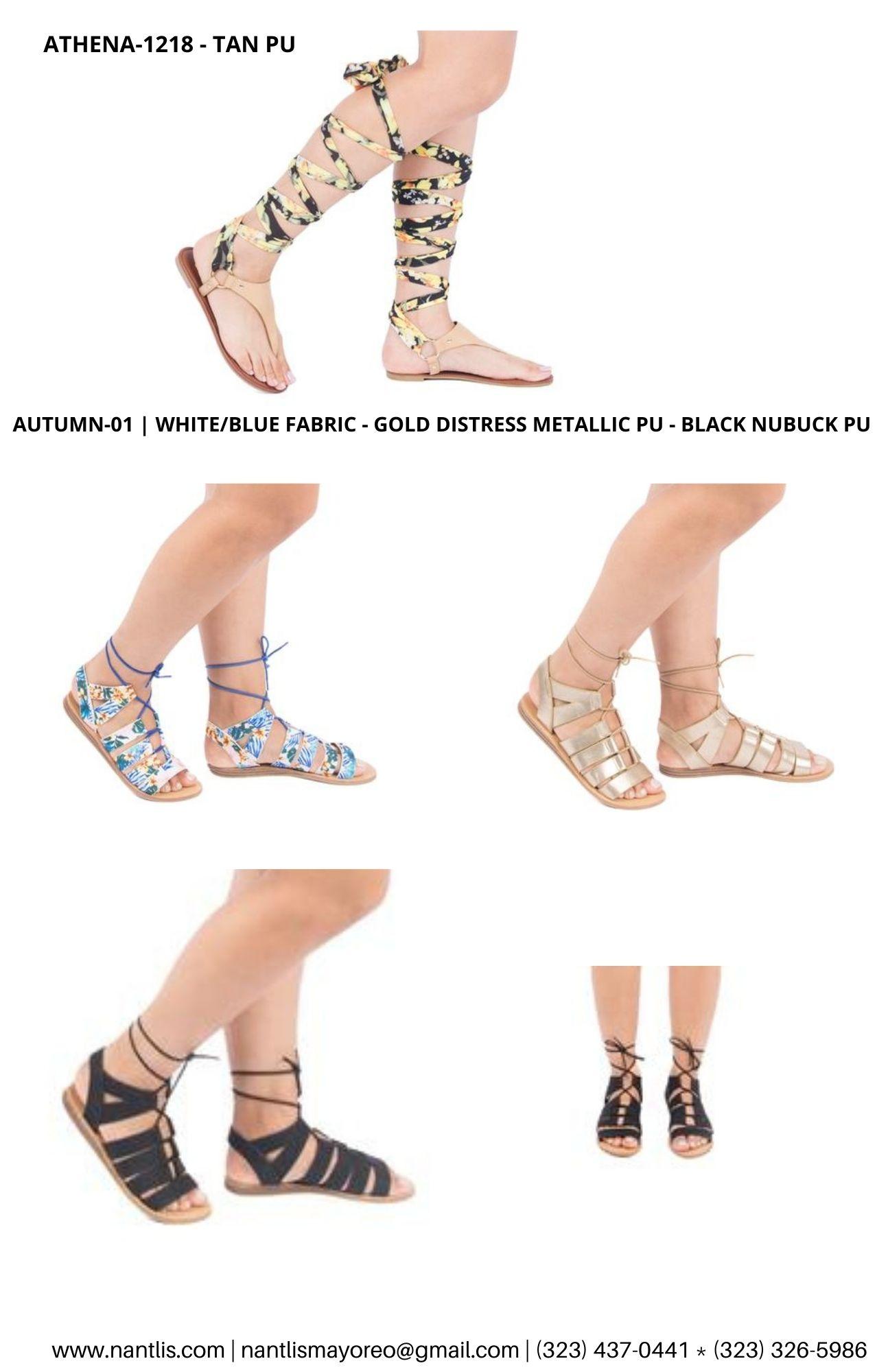 Catalogo Vol QU44 Sandalias de mujer mayoreo Wholesale Sandals page 04