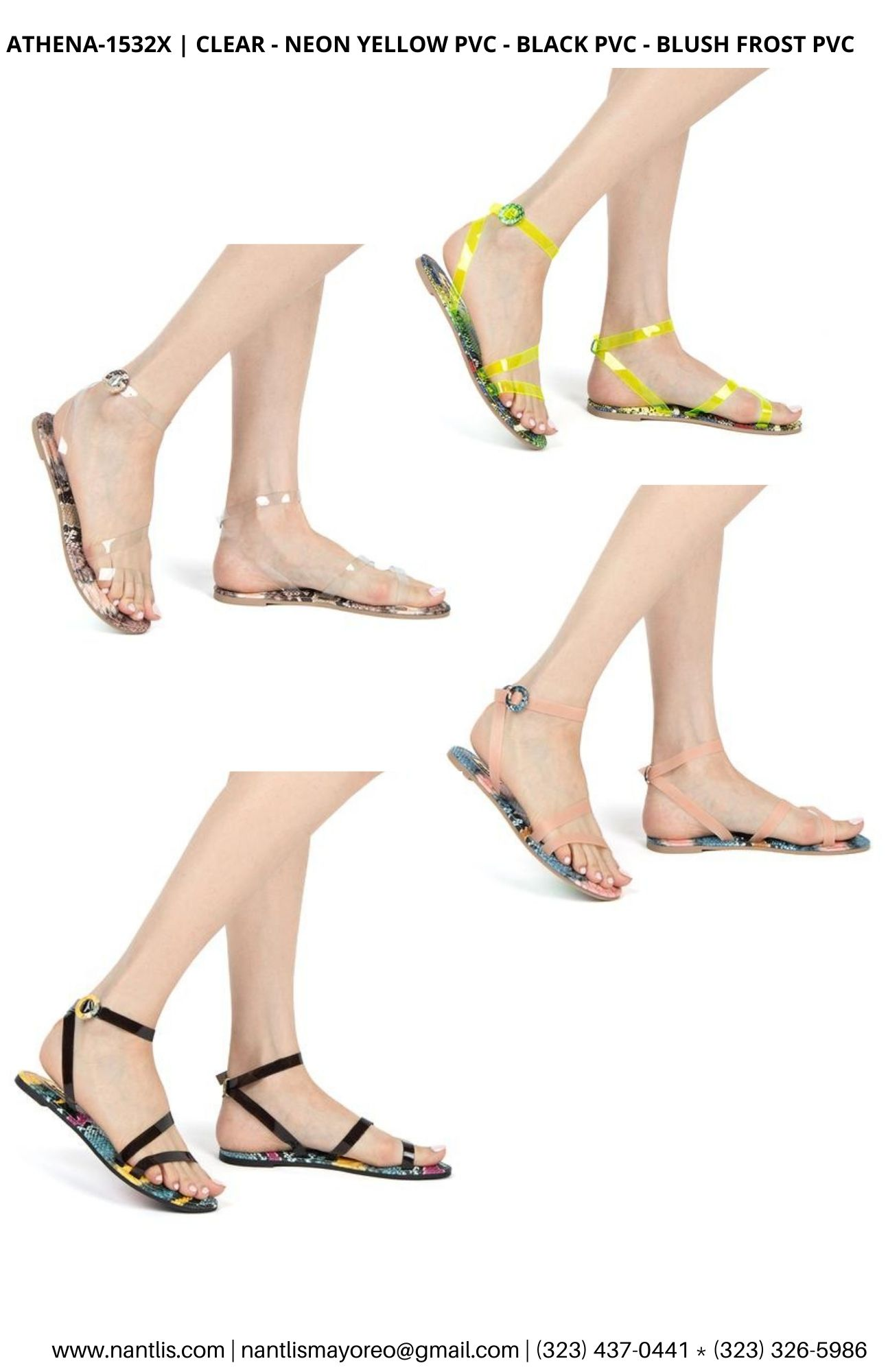 Catalogo Vol QU44 Sandalias de mujer mayoreo Wholesale Sandals page 05