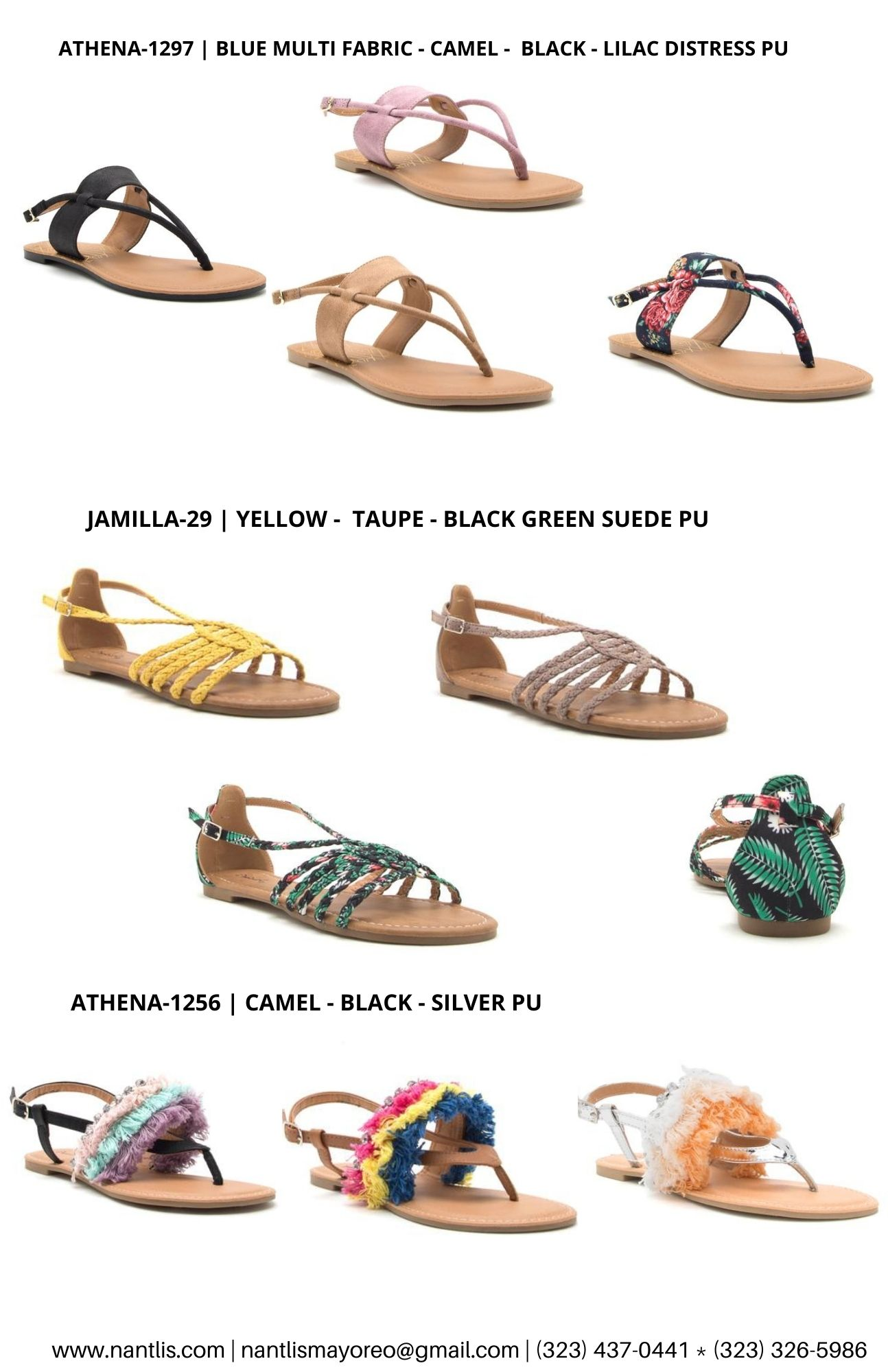 Catalogo Vol QU44 Sandalias de mujer mayoreo Wholesale Sandals page 06