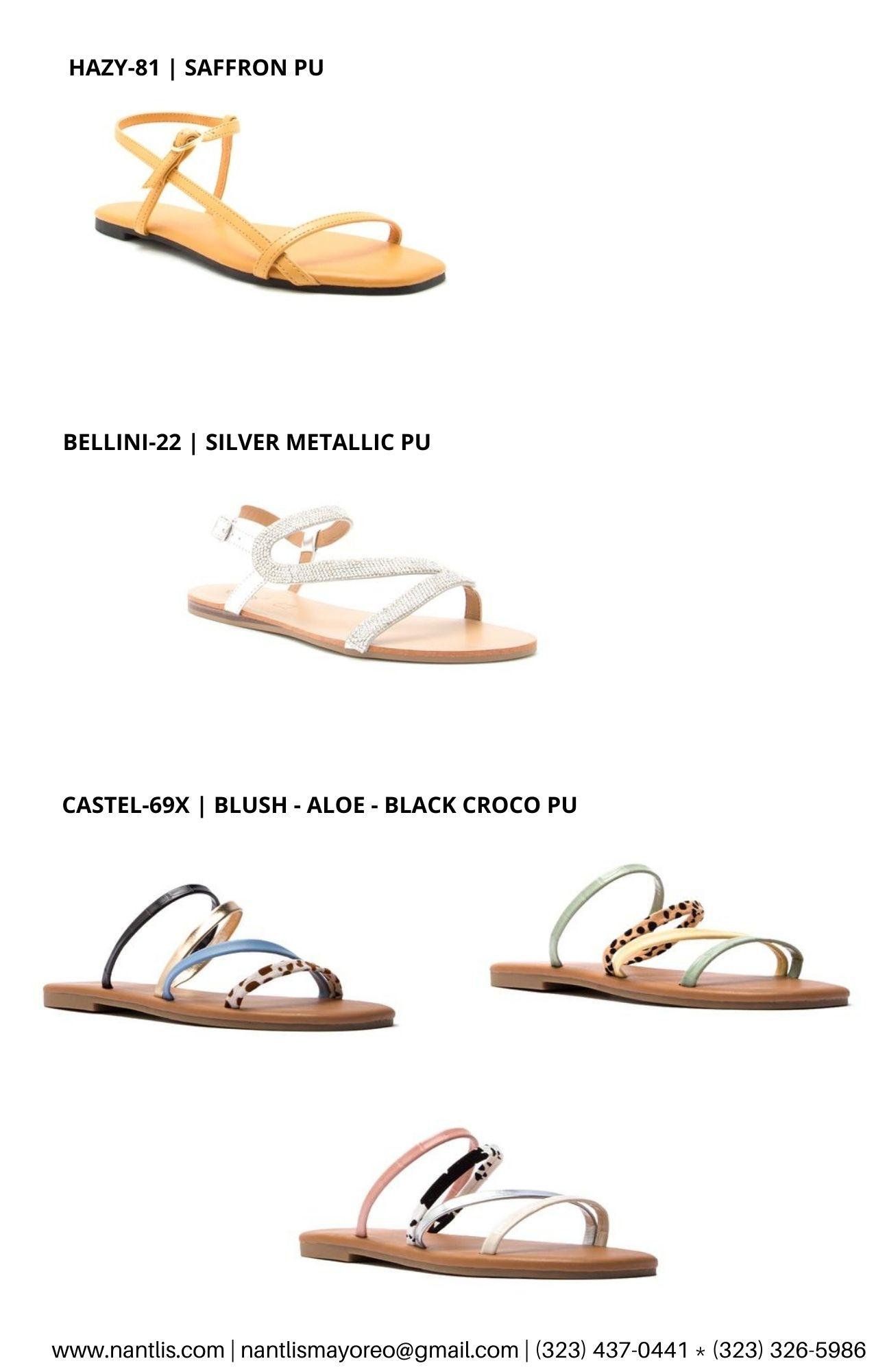 Catalogo Vol QU44 Sandalias de mujer mayoreo Wholesale Sandals page 08