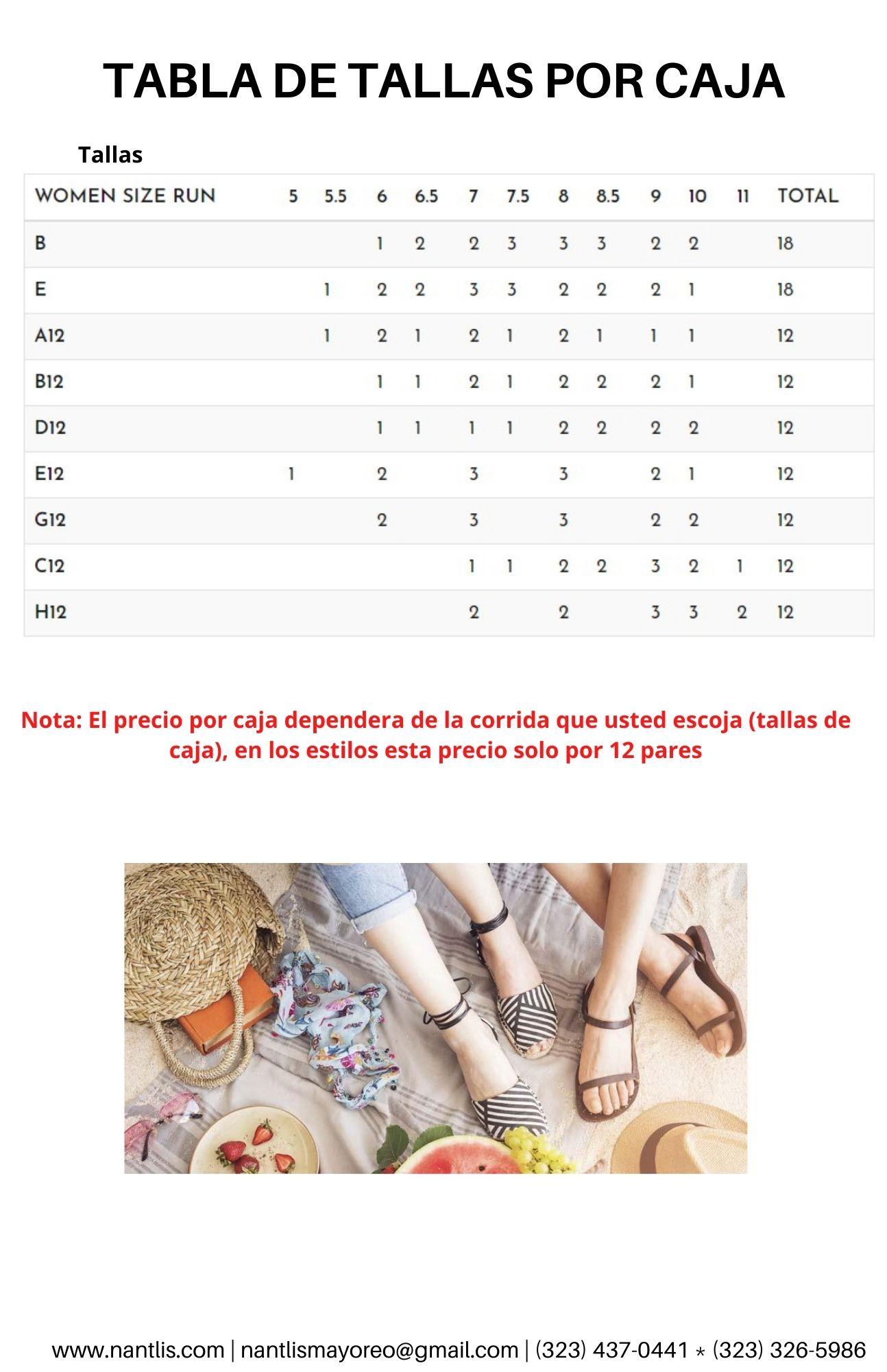 Catalogo Vol QU44 Sandalias de mujer mayoreo Wholesale Sandals page 09