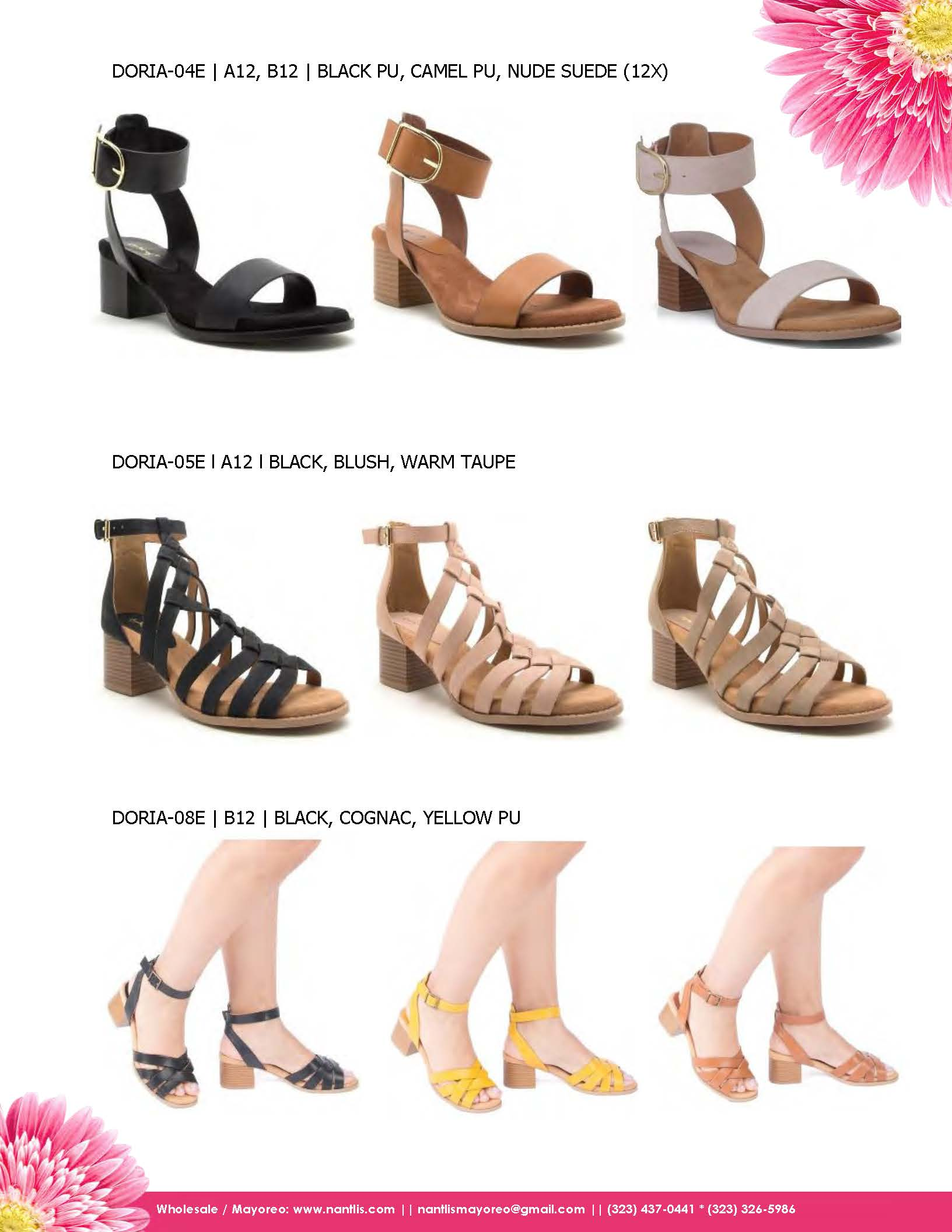 Nantlis Vol QU43 Zapatos para mujer mayoreo Wholesale shoes for women_Page_19