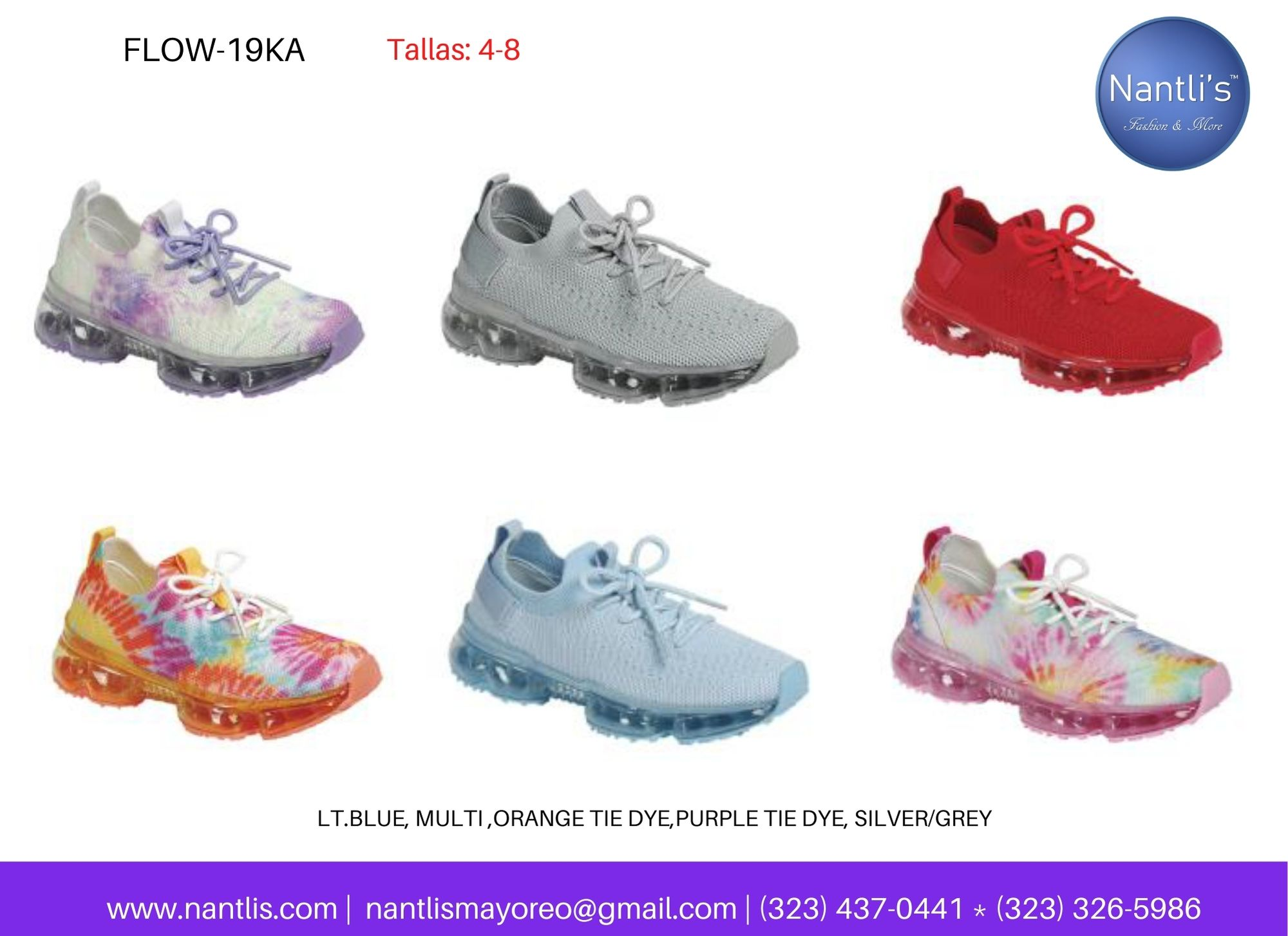 Catalogo Vol FL28 Tenis y Zapatos de ninas Mayoreo Wholesale girls shoes and tennis shoes for kids page 02