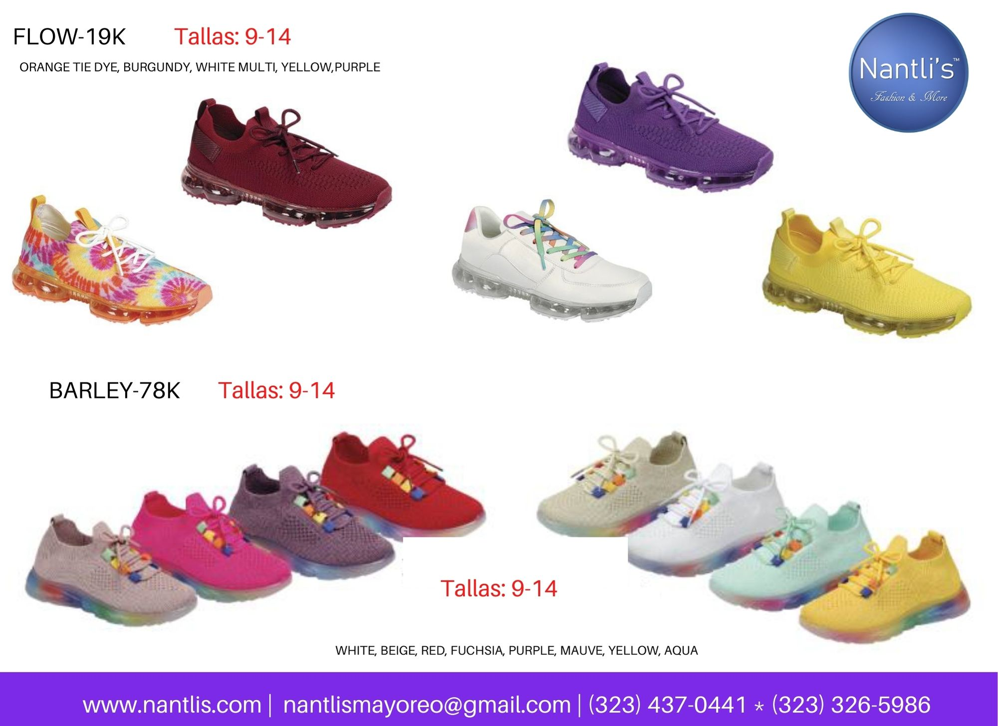 Catalogo Vol FL28 Tenis y Zapatos de ninas Mayoreo Wholesale girls shoes and tennis shoes for kids page 03
