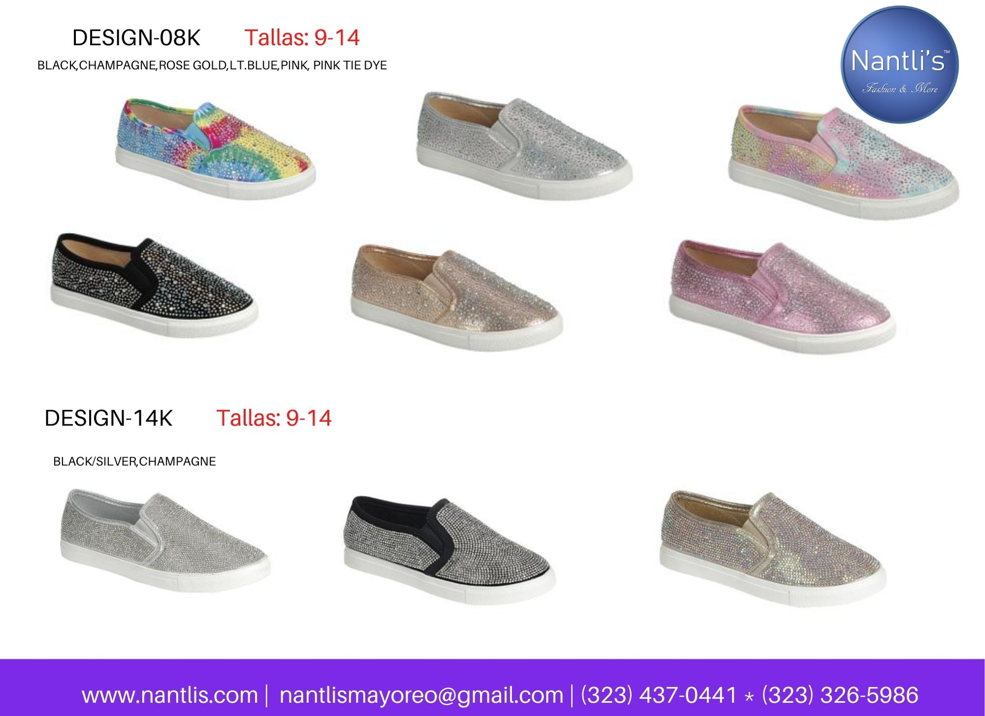 Catalogo Vol FL28 Tenis y Zapatos de ninas Mayoreo Wholesale girls shoes and tennis shoes for kids page 06