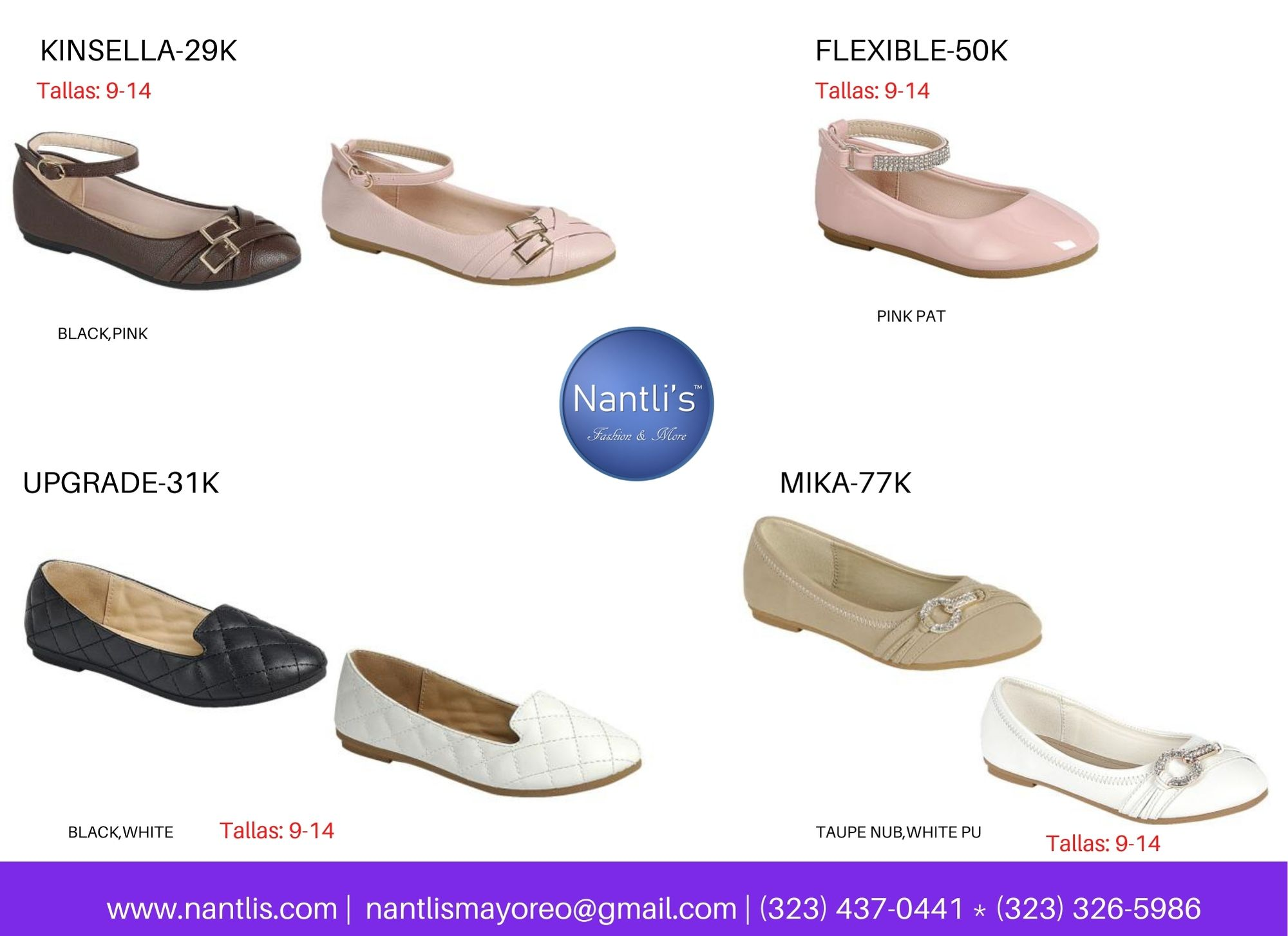 Catalogo Vol FL28 Tenis y Zapatos de ninas Mayoreo Wholesale girls shoes and tennis shoes for kids page 07