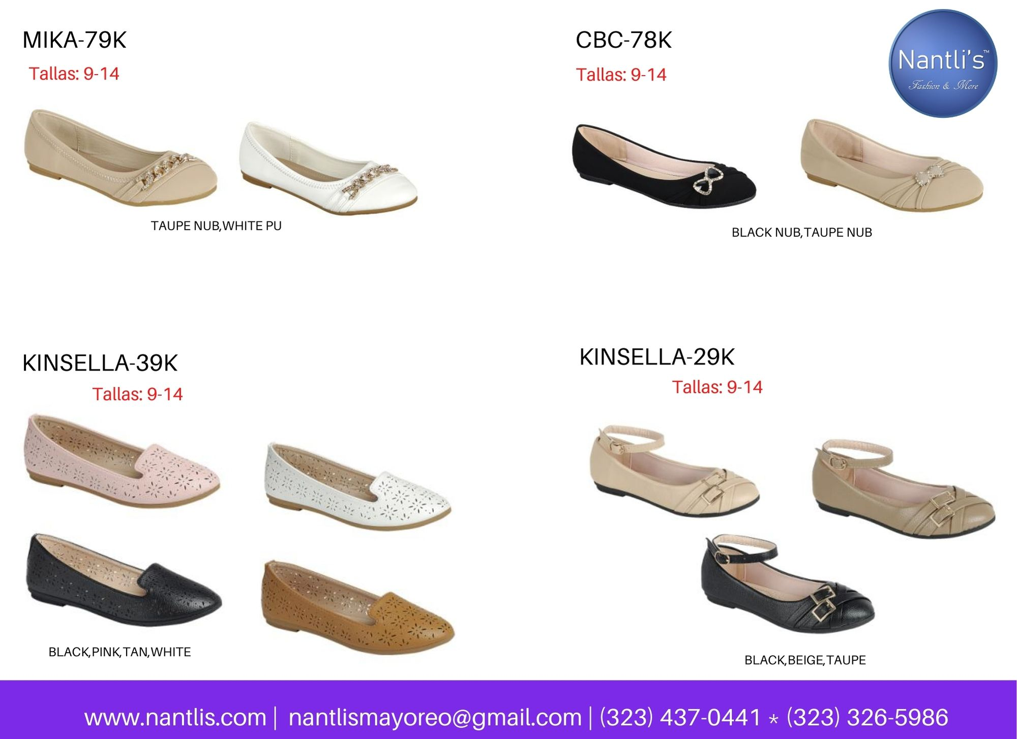 Catalogo Vol FL28 Tenis y Zapatos de ninas Mayoreo Wholesale girls shoes and tennis shoes for kids page 08
