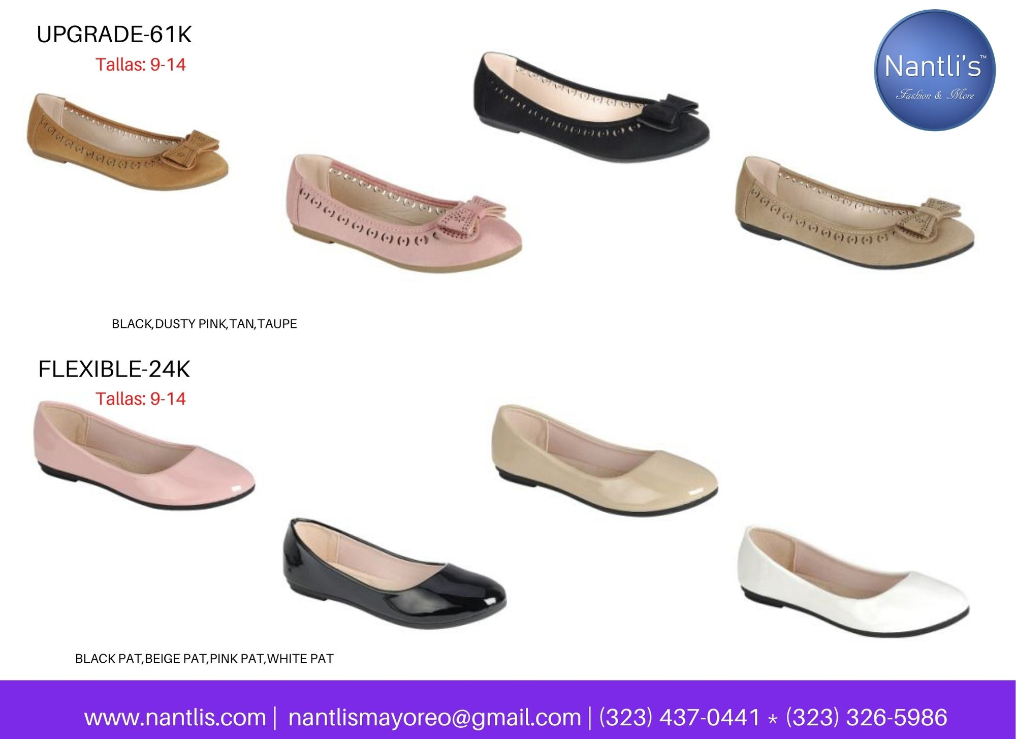 Catalogo Vol FL28 Tenis y Zapatos de ninas Mayoreo Wholesale girls shoes and tennis shoes for kids page 10