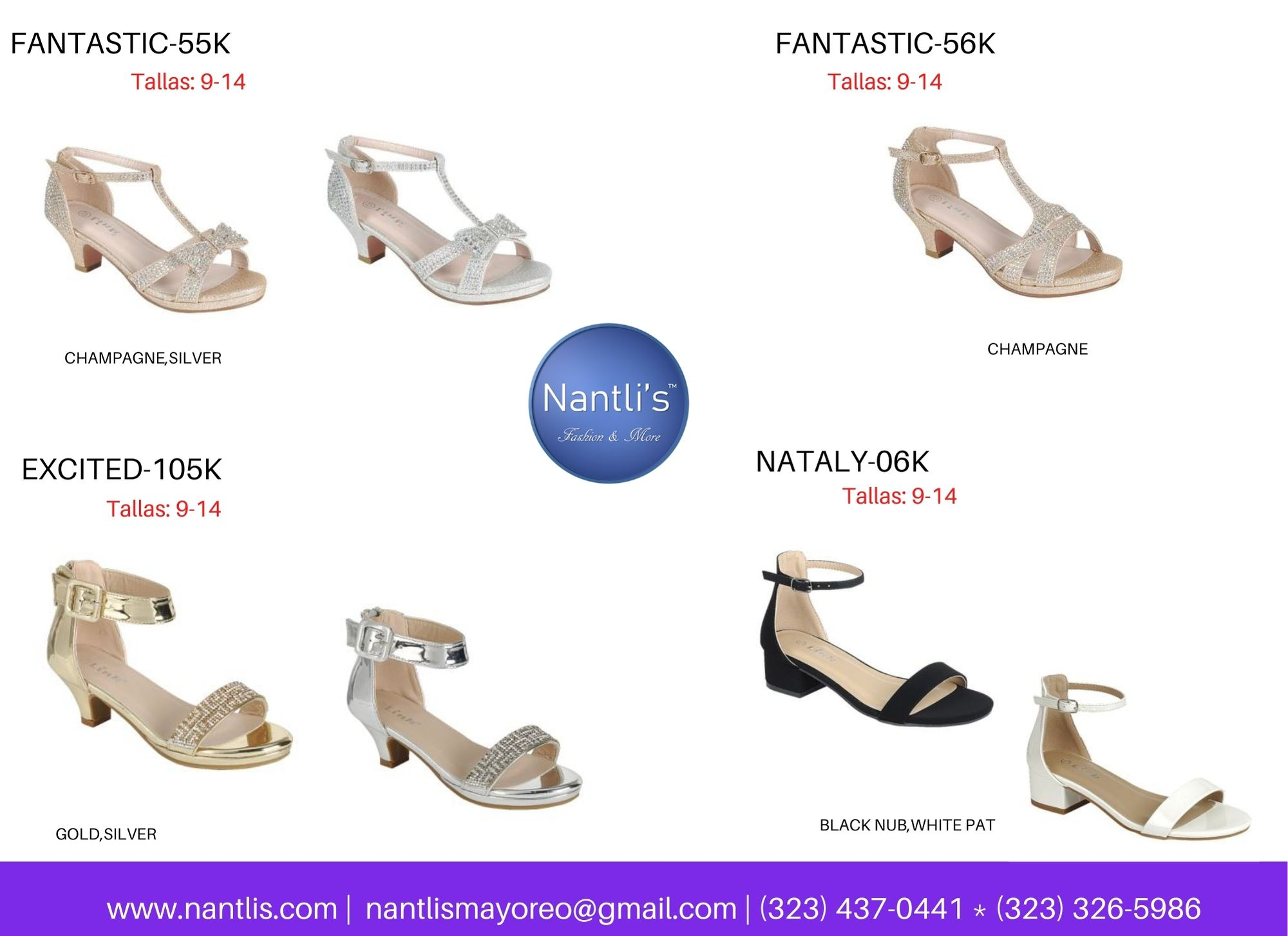 Catalogo Vol FL28 Tenis y Zapatos de ninas Mayoreo Wholesale girls shoes and tennis shoes for kids page 13