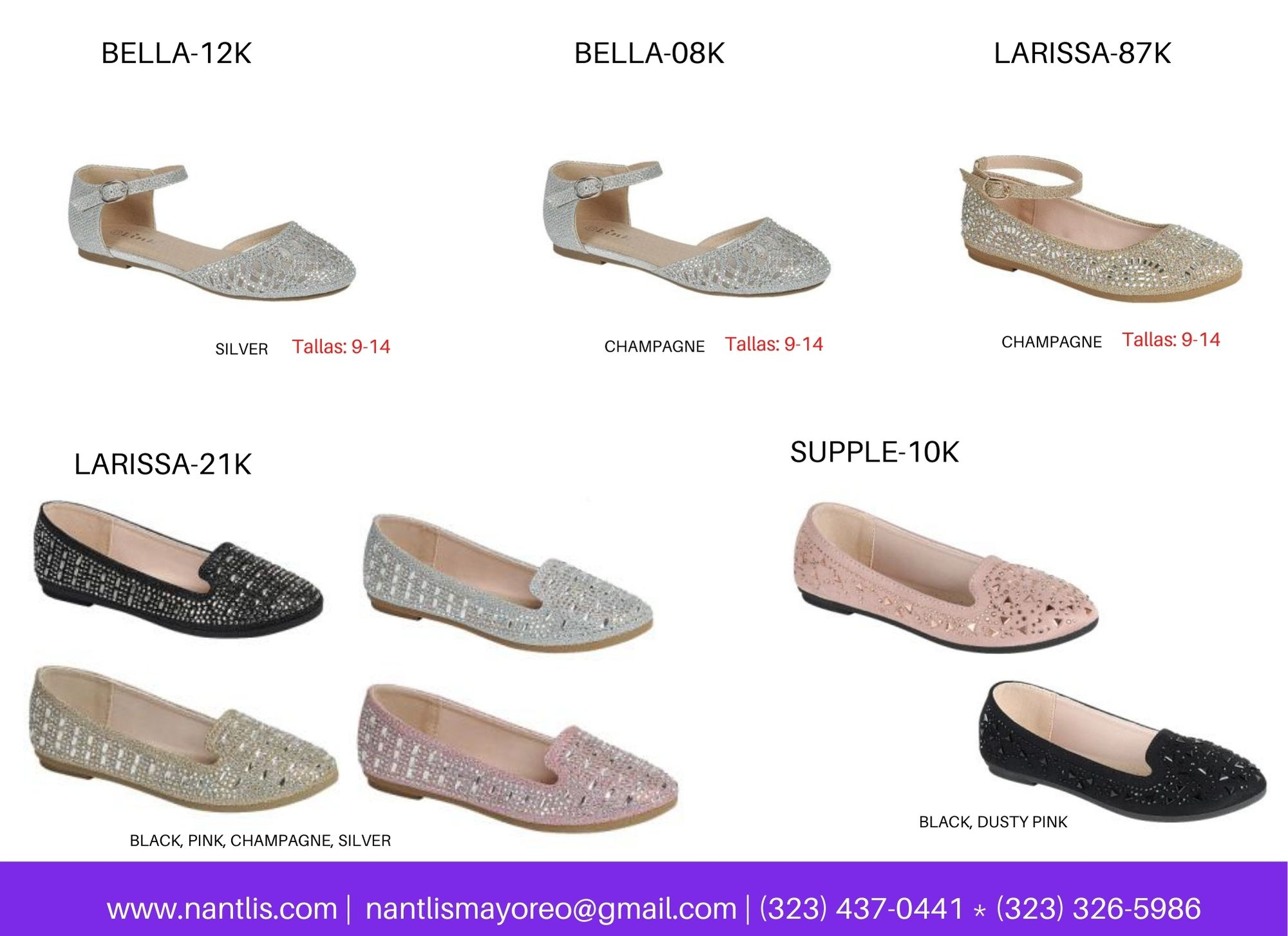 Catalogo Vol FL28 Tenis y Zapatos de ninas Mayoreo Wholesale girls shoes and tennis shoes for kids page 15
