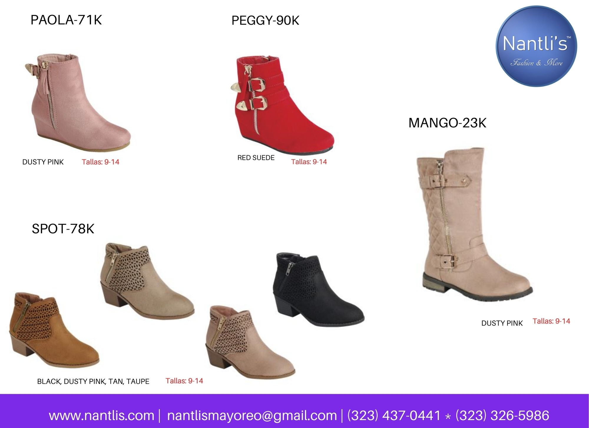 Catalogo Vol FL28 Tenis y Zapatos de ninas Mayoreo Wholesale girls shoes and tennis shoes for kids page 16