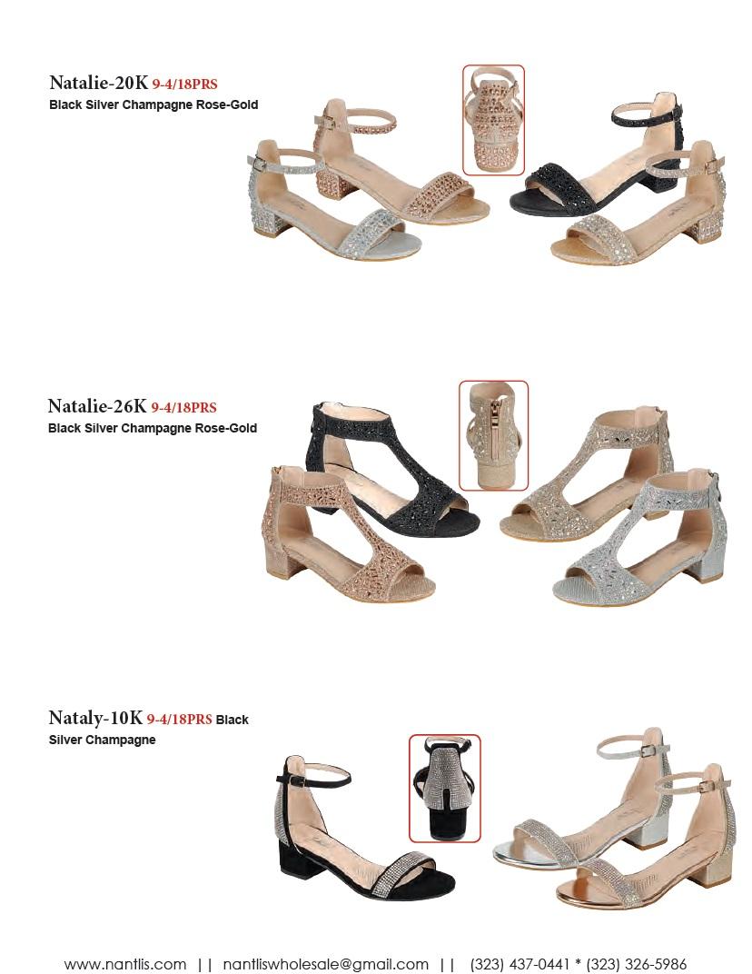 Nantlis Vol FL203 Zapatos de Fiesta ninas mayoreo Catalogo Wholesale little girls party shoes_Page_02