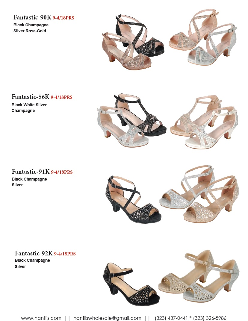 Nantlis Vol FL203 Zapatos de Fiesta ninas mayoreo Catalogo Wholesale little girls party shoes_Page_07