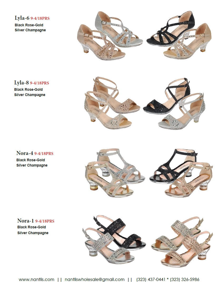 Nantlis Vol FL203 Zapatos de Fiesta ninas mayoreo Catalogo Wholesale little girls party shoes_Page_08