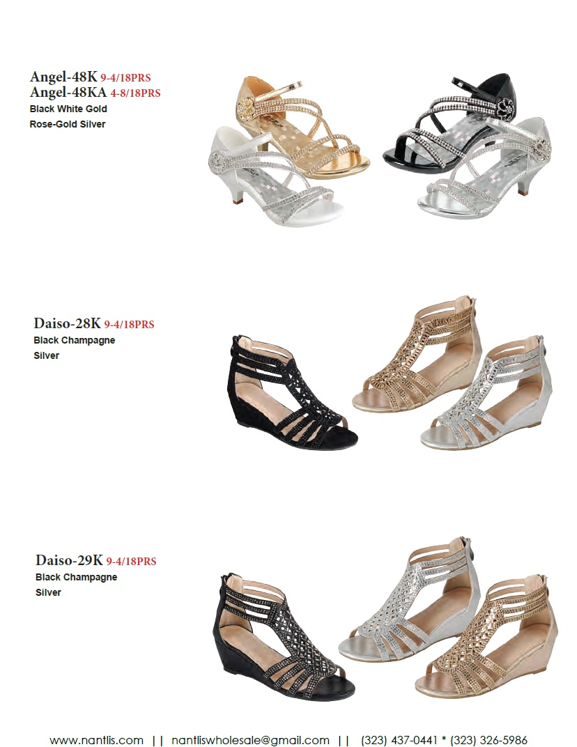 Nantlis Vol FL203 Zapatos de Fiesta ninas mayoreo Catalogo Wholesale little girls party shoes_Page_10