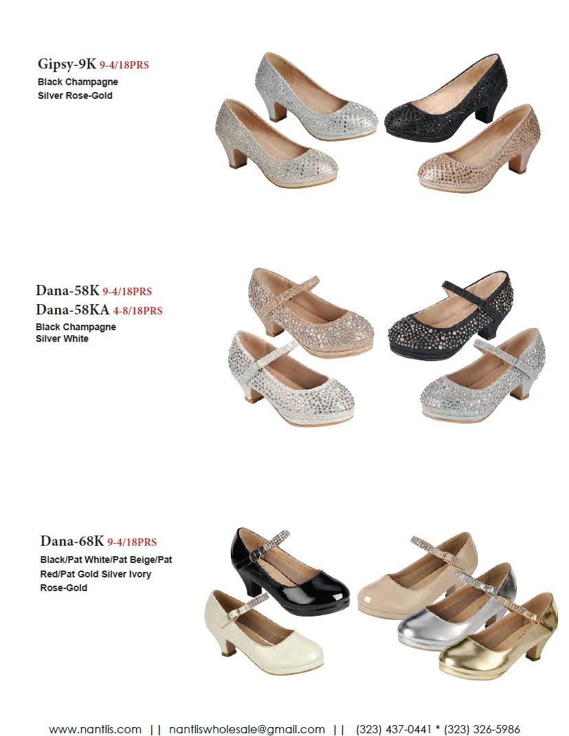 Nantlis Vol FL203 Zapatos de Fiesta ninas mayoreo Catalogo Wholesale little girls party shoes_Page_12