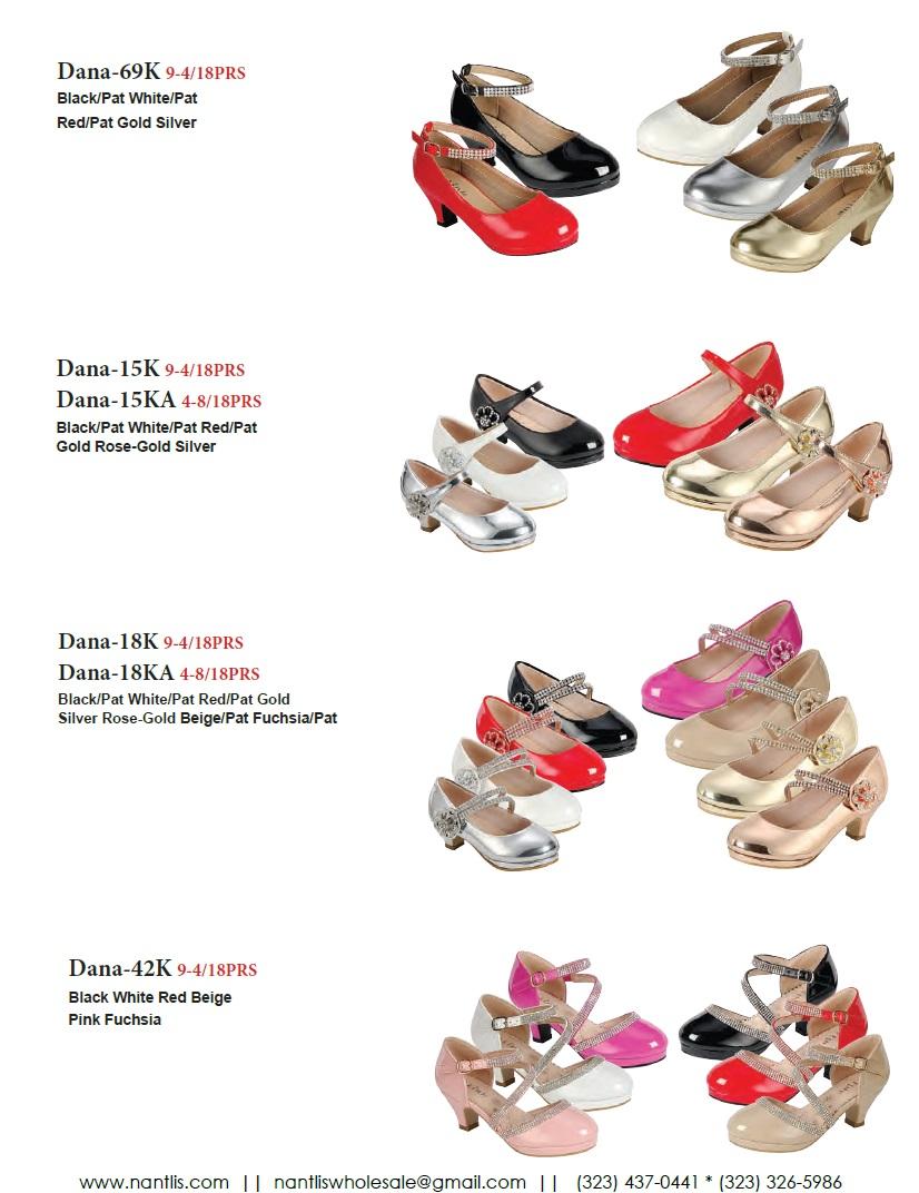 Nantlis Vol FL203 Zapatos de Fiesta ninas mayoreo Catalogo Wholesale little girls party shoes_Page_13