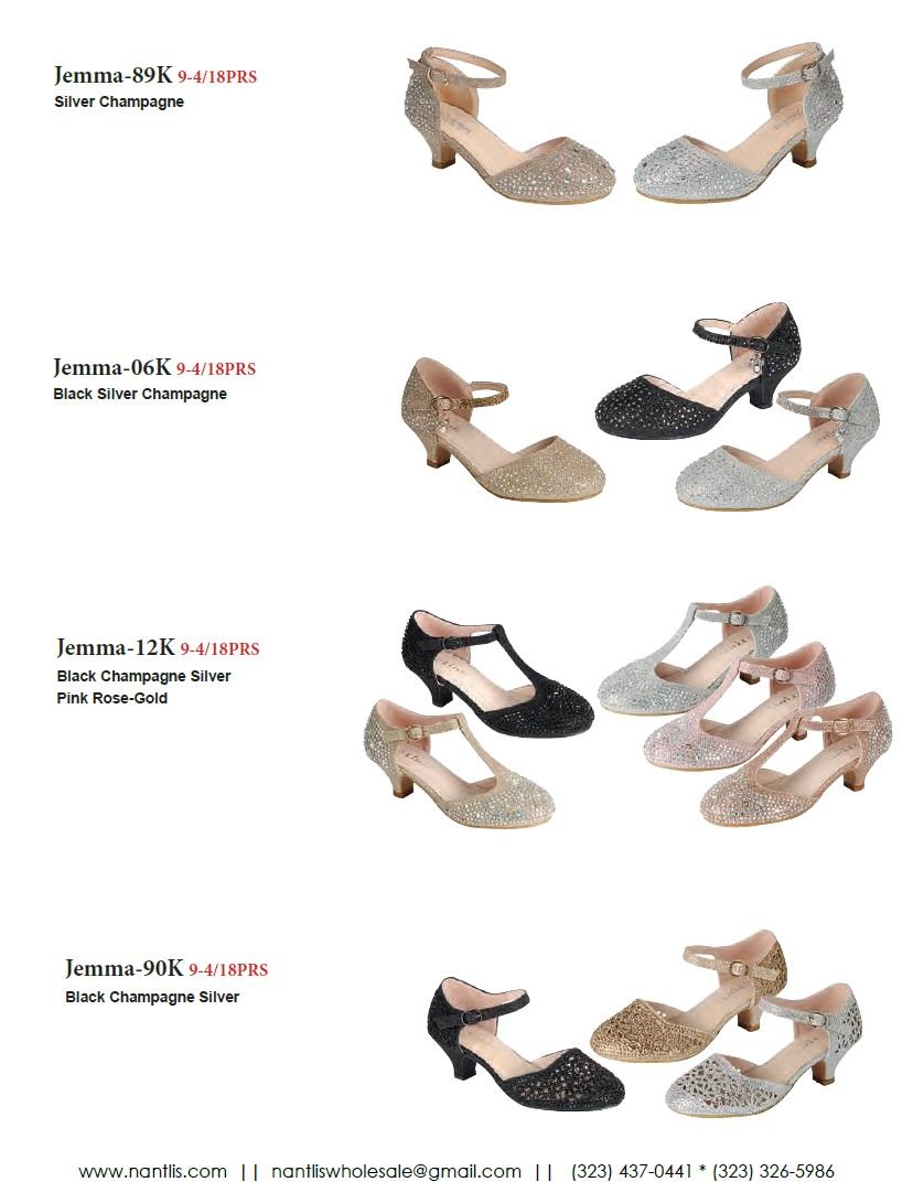 Nantlis Vol FL203 Zapatos de Fiesta ninas mayoreo Catalogo Wholesale little girls party shoes_Page_14