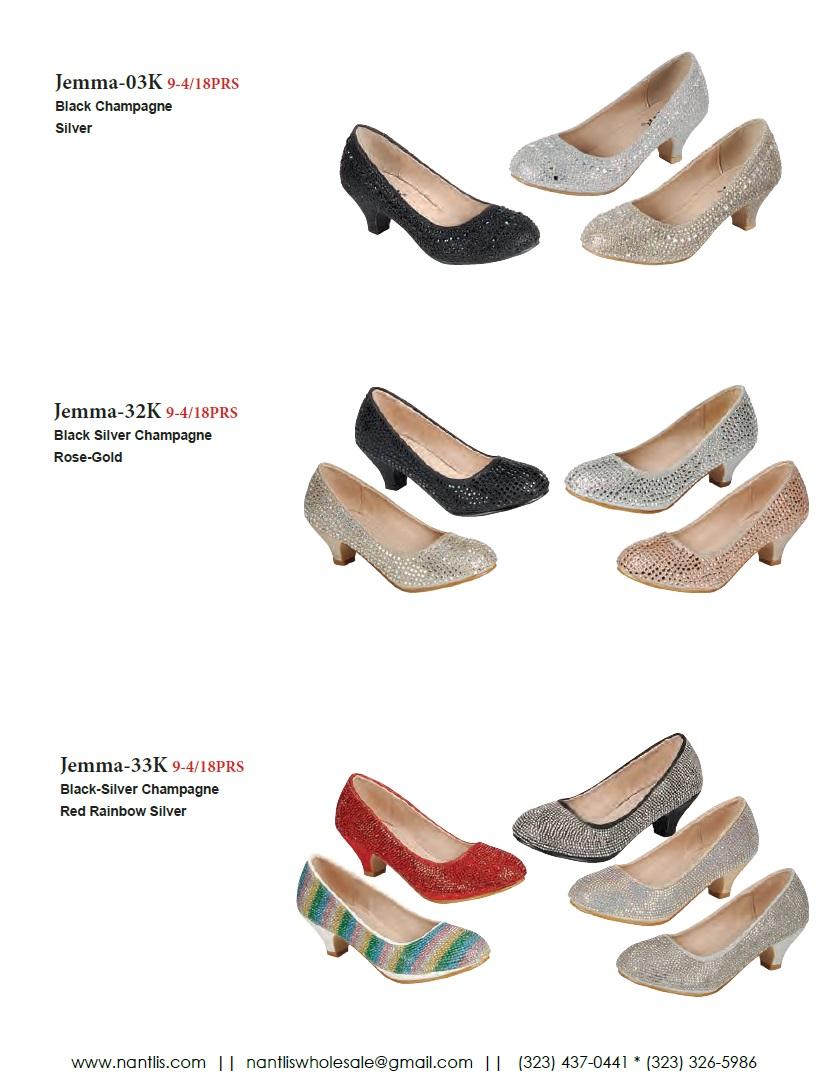Nantlis Vol FL203 Zapatos de Fiesta ninas mayoreo Catalogo Wholesale little girls party shoes_Page_16
