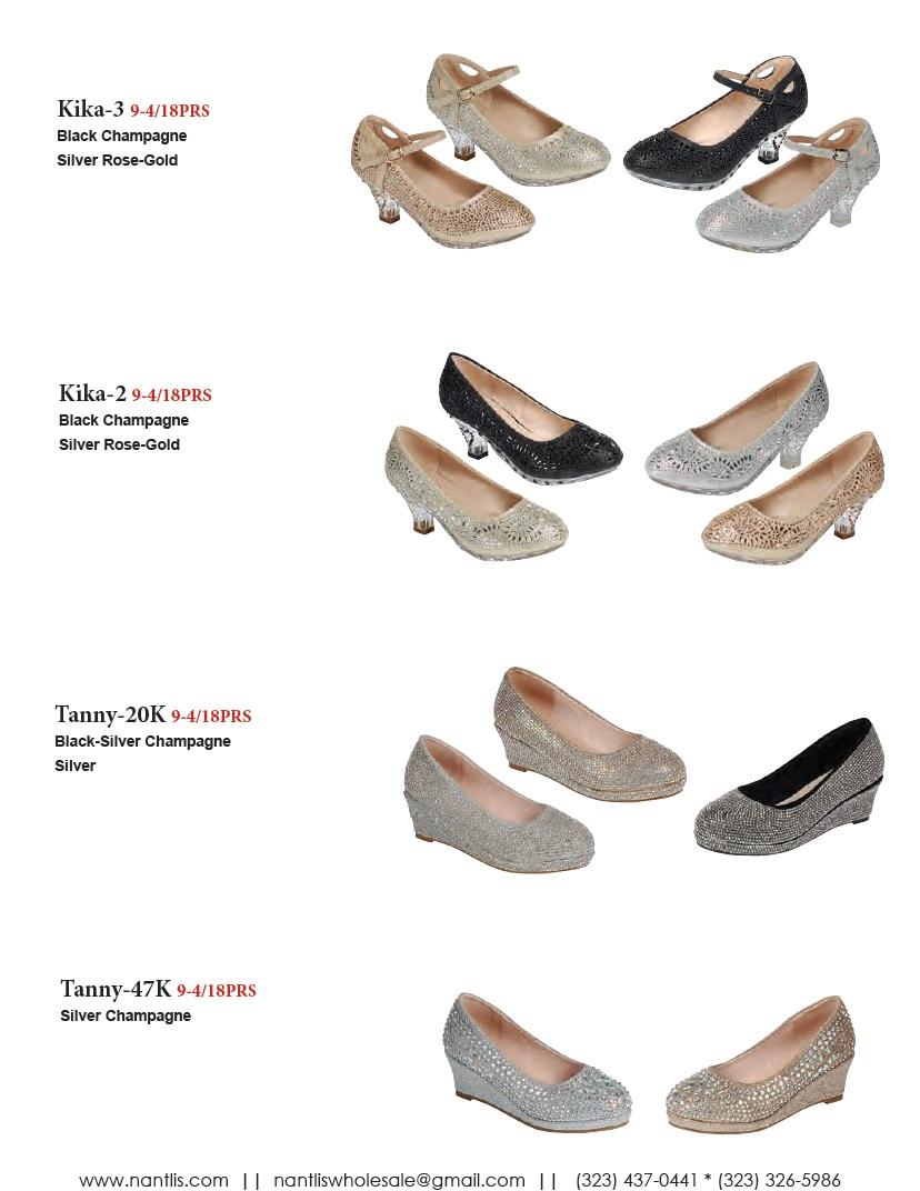 Nantlis Vol FL203 Zapatos de Fiesta ninas mayoreo Catalogo Wholesale little girls party shoes_Page_17