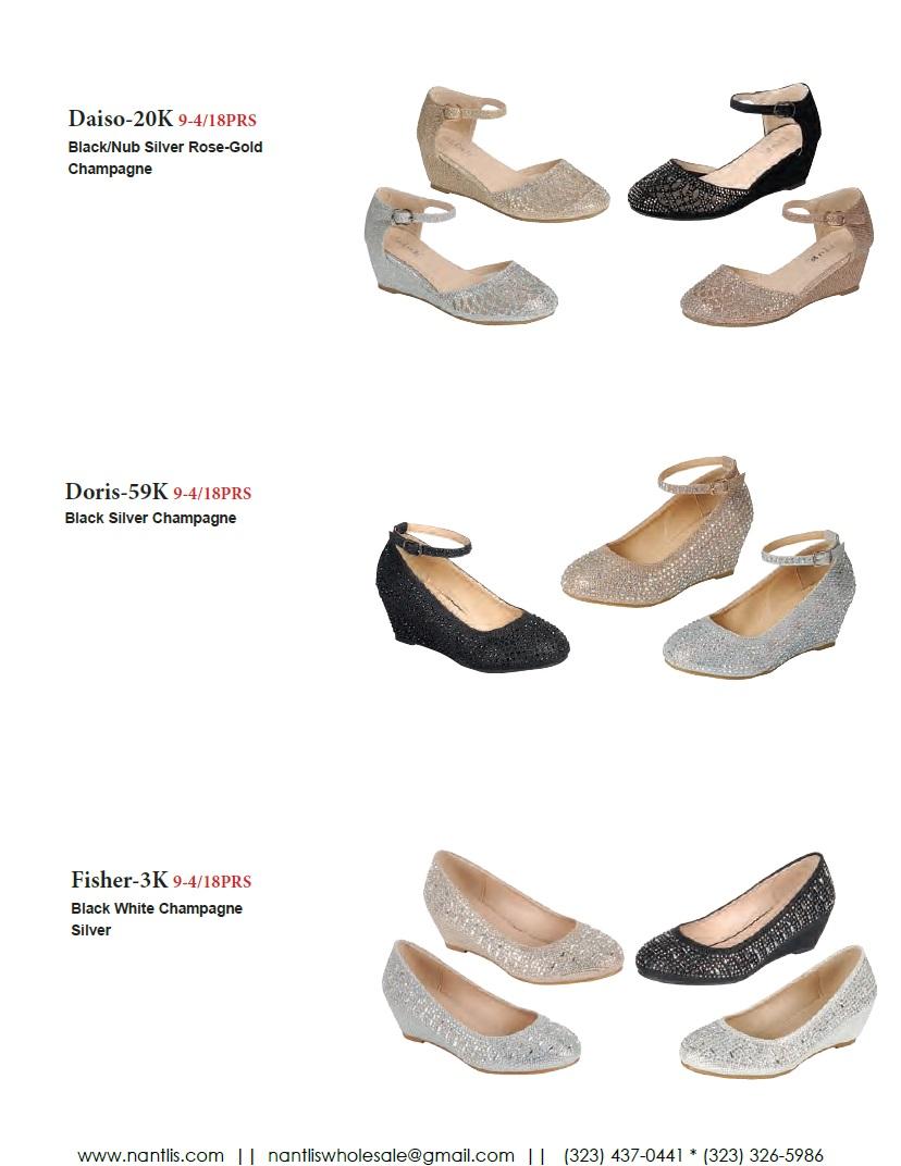 Nantlis Vol FL203 Zapatos de Fiesta ninas mayoreo Catalogo Wholesale little girls party shoes_Page_18