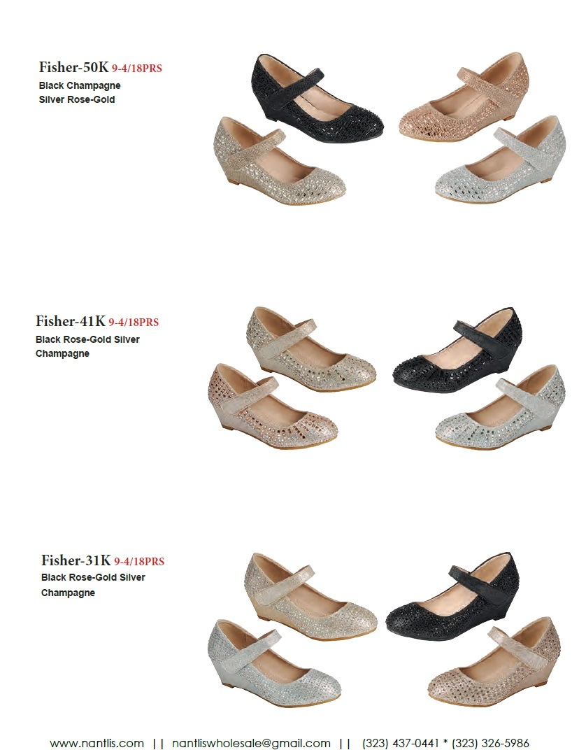 Nantlis Vol FL203 Zapatos de Fiesta ninas mayoreo Catalogo Wholesale little girls party shoes_Page_19