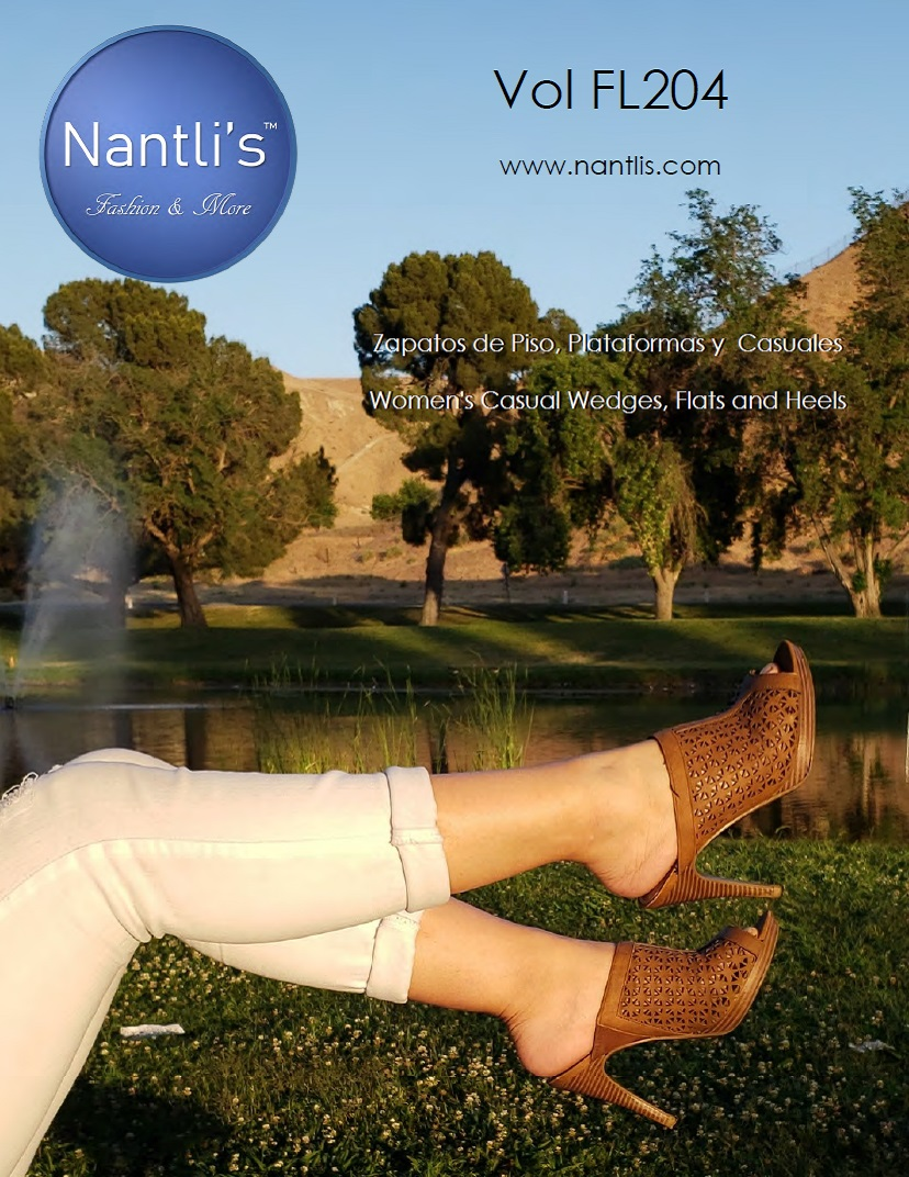 Nantlis Vol FL204 Zapatos Casuales Mujer mayoreo Catalogo Wholesale womens Casual shoes flats and wedges_Page_01