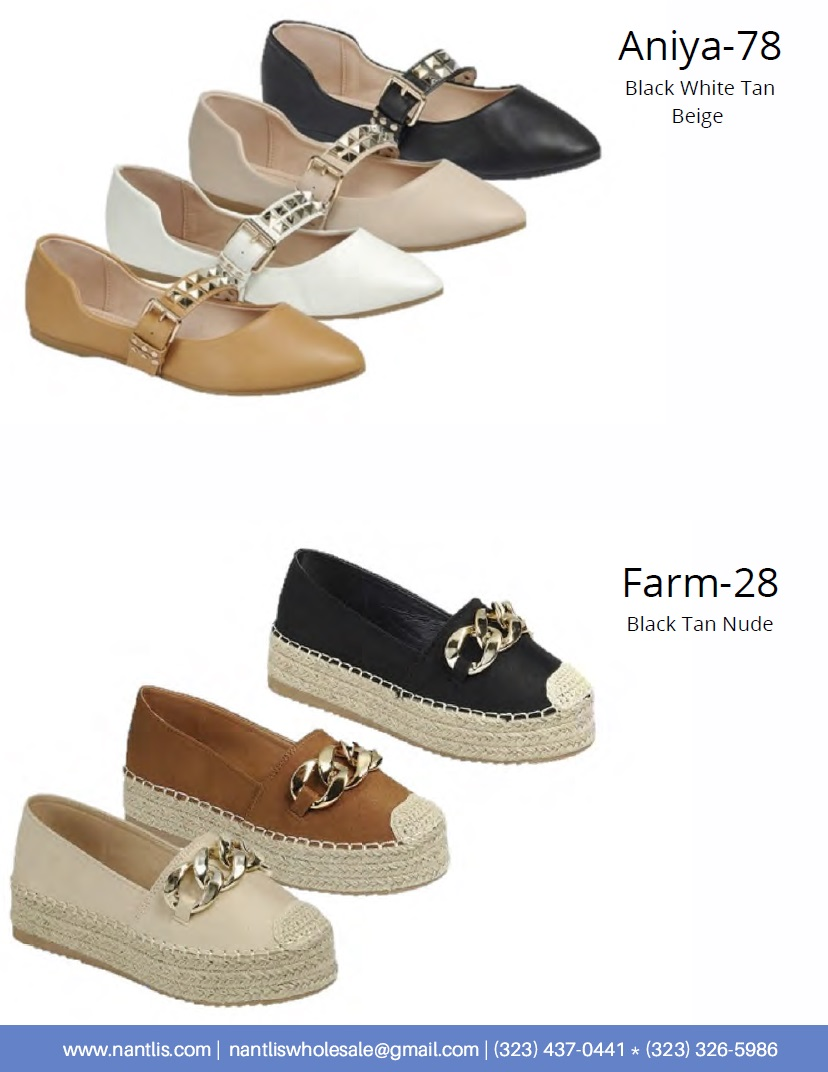 Nantlis Vol FL204 Zapatos Casuales Mujer mayoreo Catalogo Wholesale womens Casual shoes flats and wedges_Page_14