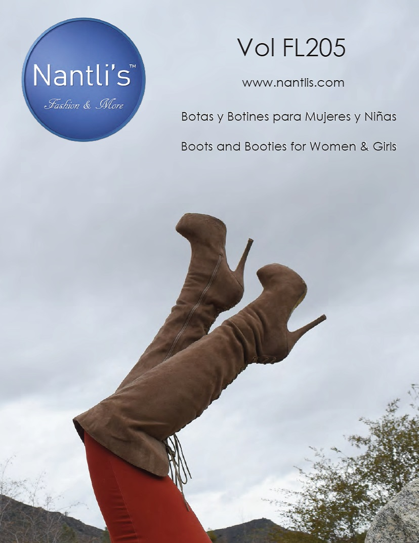 Nantlis Vol FL205 Botas Mujer y Nina mayoreo Catalogo Wholesale boots and booties womens and girls_Page_01