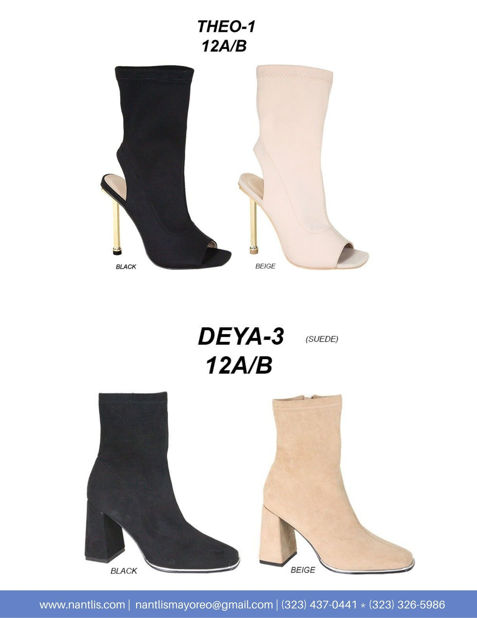 Nantlis Vol AN22 Botas Mujer mayoreo Catalogo Wholesale boots for women page 04