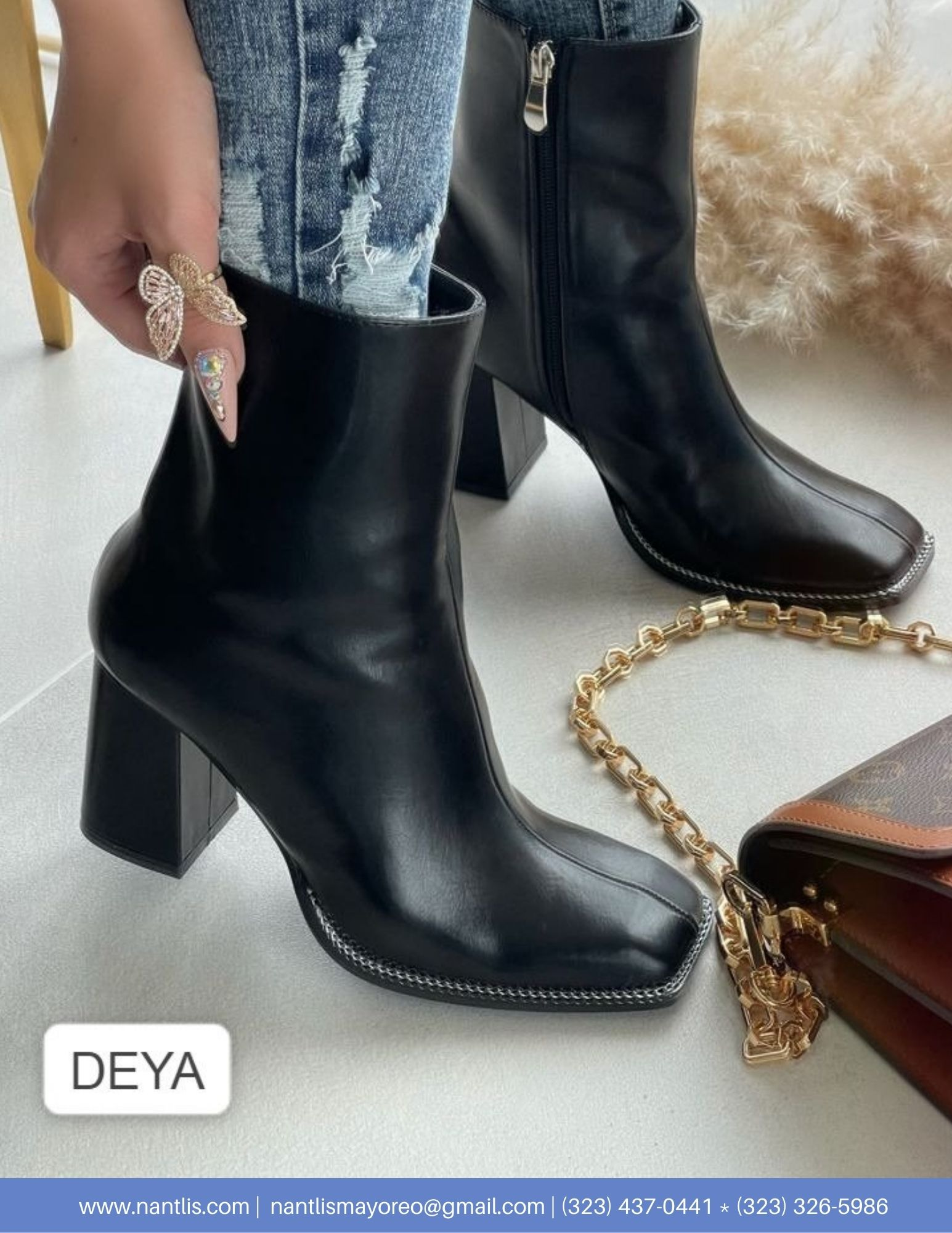 Nantlis Vol AN22 Botas Mujer mayoreo Catalogo Wholesale boots for women page 05