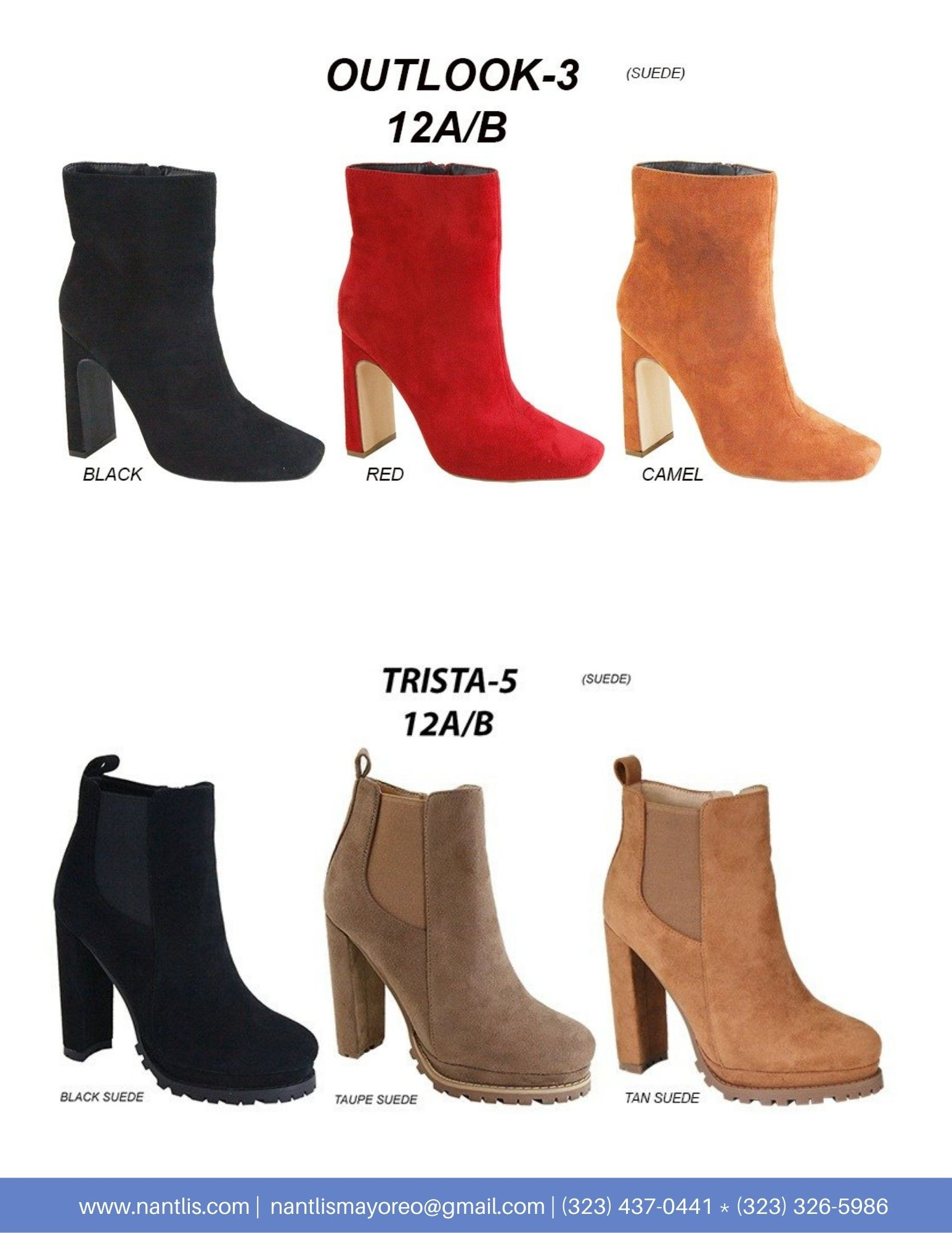 Nantlis Vol AN22 Botas Mujer mayoreo Catalogo Wholesale boots for women page 08