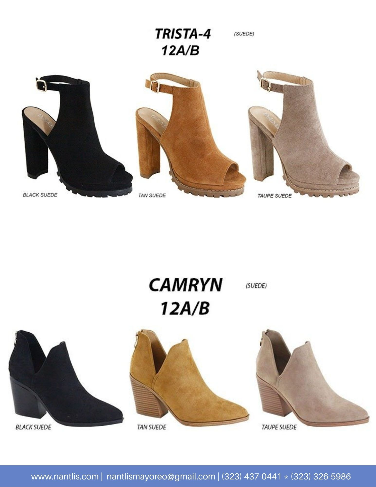 Nantlis Vol AN22 Botas Mujer mayoreo Catalogo Wholesale boots for women page 09