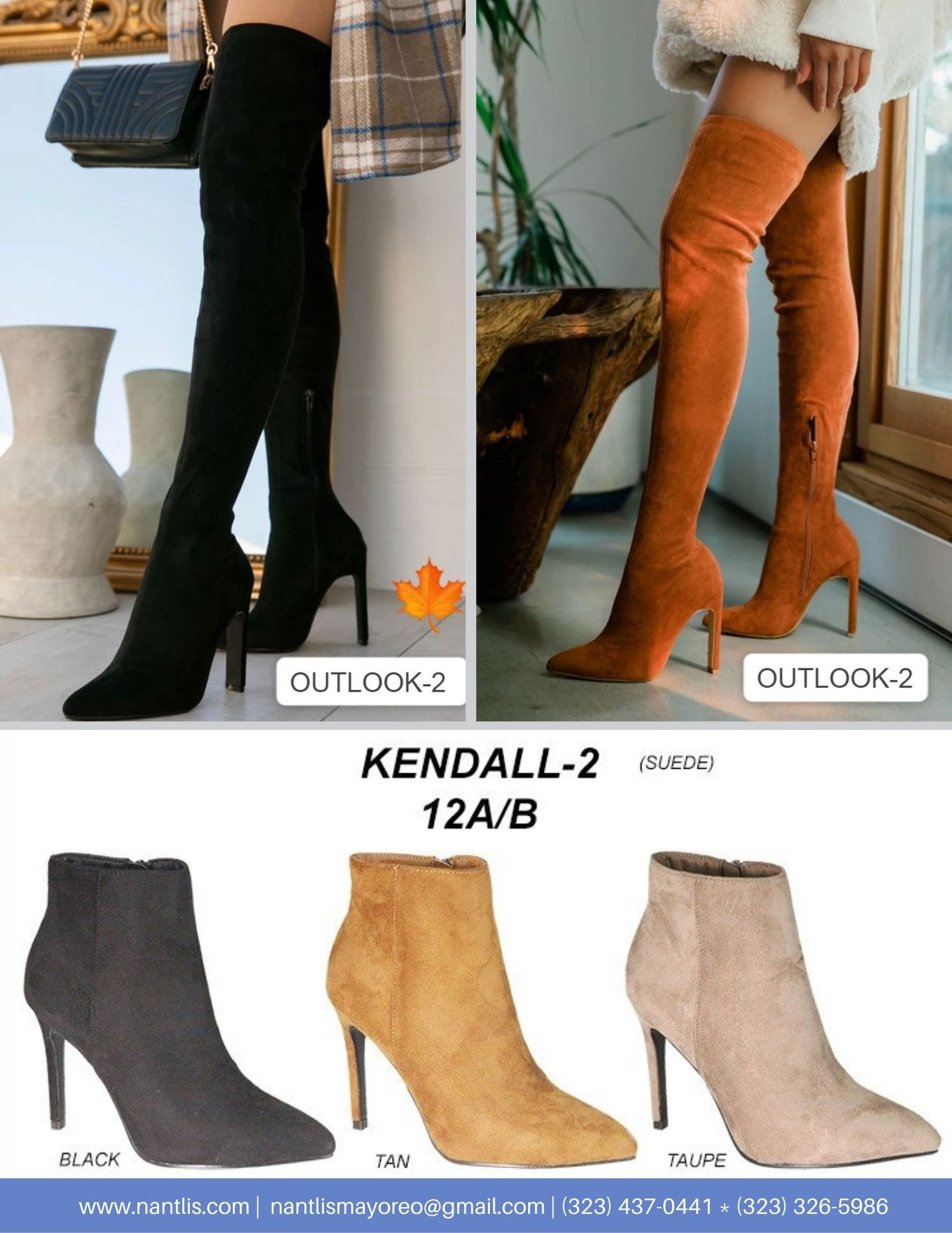 Nantlis Vol AN22 Botas Mujer mayoreo Catalogo Wholesale boots for women page 10