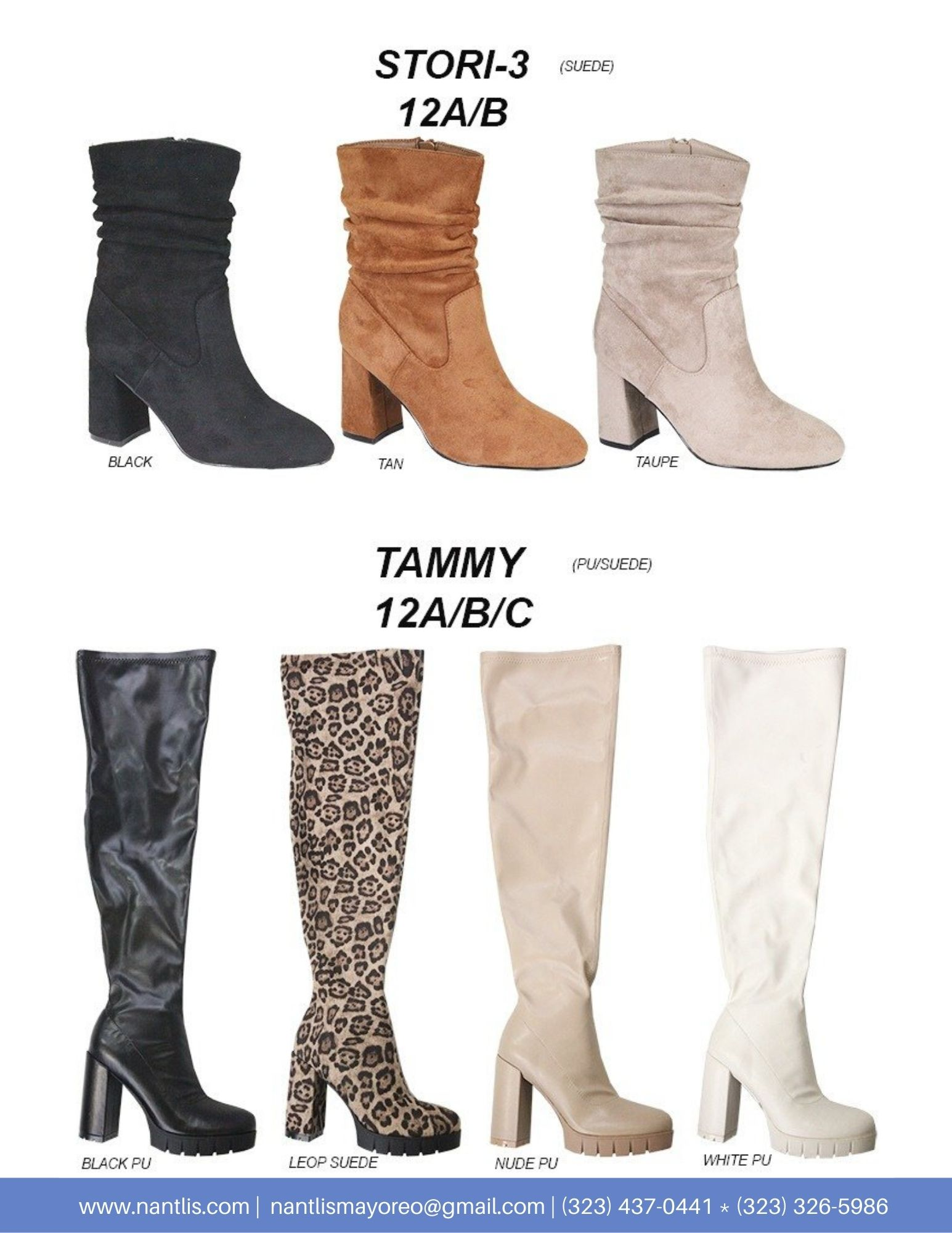 Nantlis Vol AN22 Botas Mujer mayoreo Catalogo Wholesale boots for women page 11