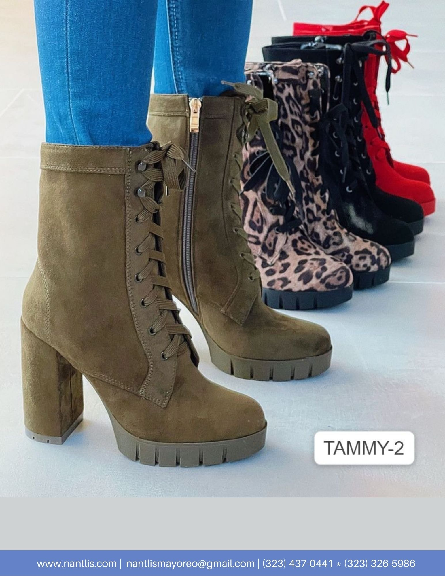 Nantlis Vol AN22 Botas Mujer mayoreo Catalogo Wholesale boots for women page 12