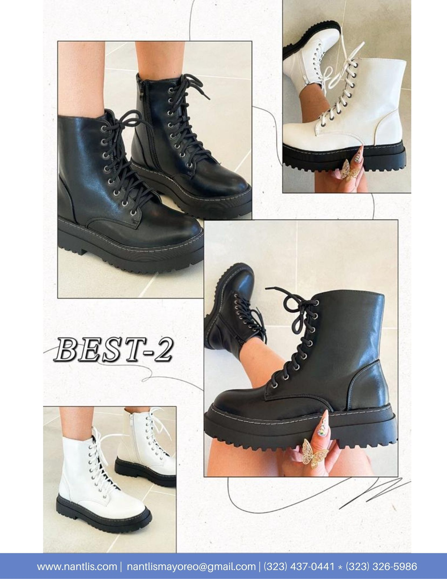 Nantlis Vol AN22 Botas Mujer mayoreo Catalogo Wholesale boots for women page 14