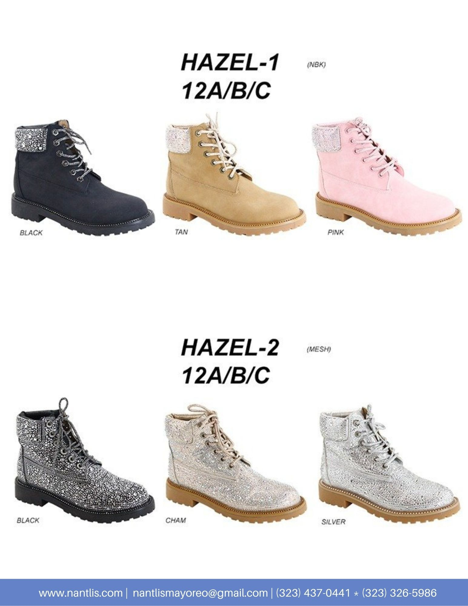 Nantlis Vol AN22 Botas Mujer mayoreo Catalogo Wholesale boots for women page 15