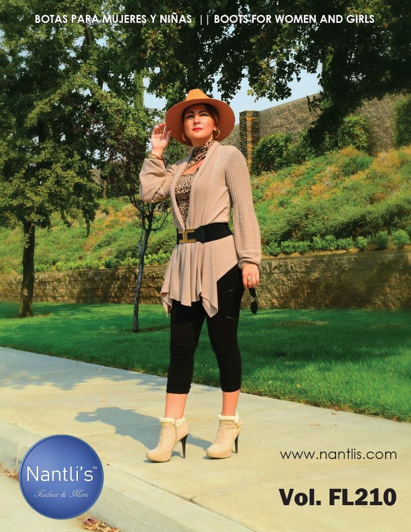 Nantlis Vol FL210 Botas Mujer y Nina mayoreo Catalogo Wholesale boots and booties women and girls_Page_01