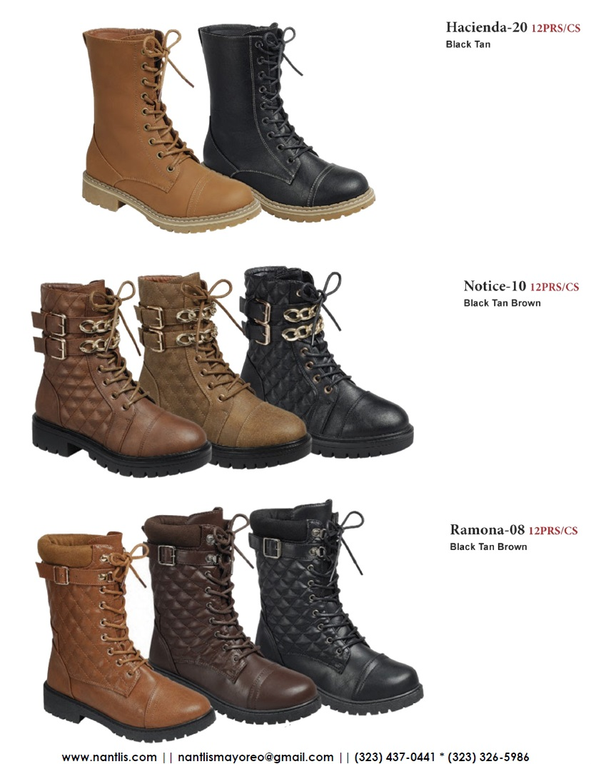 Nantlis Vol FL210 Botas Mujer y Nina mayoreo Catalogo Wholesale boots and booties women and girls_Page_11