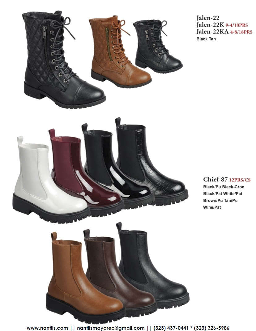 Nantlis Vol FL210 Botas Mujer y Nina mayoreo Catalogo Wholesale boots and booties women and girls_Page_12