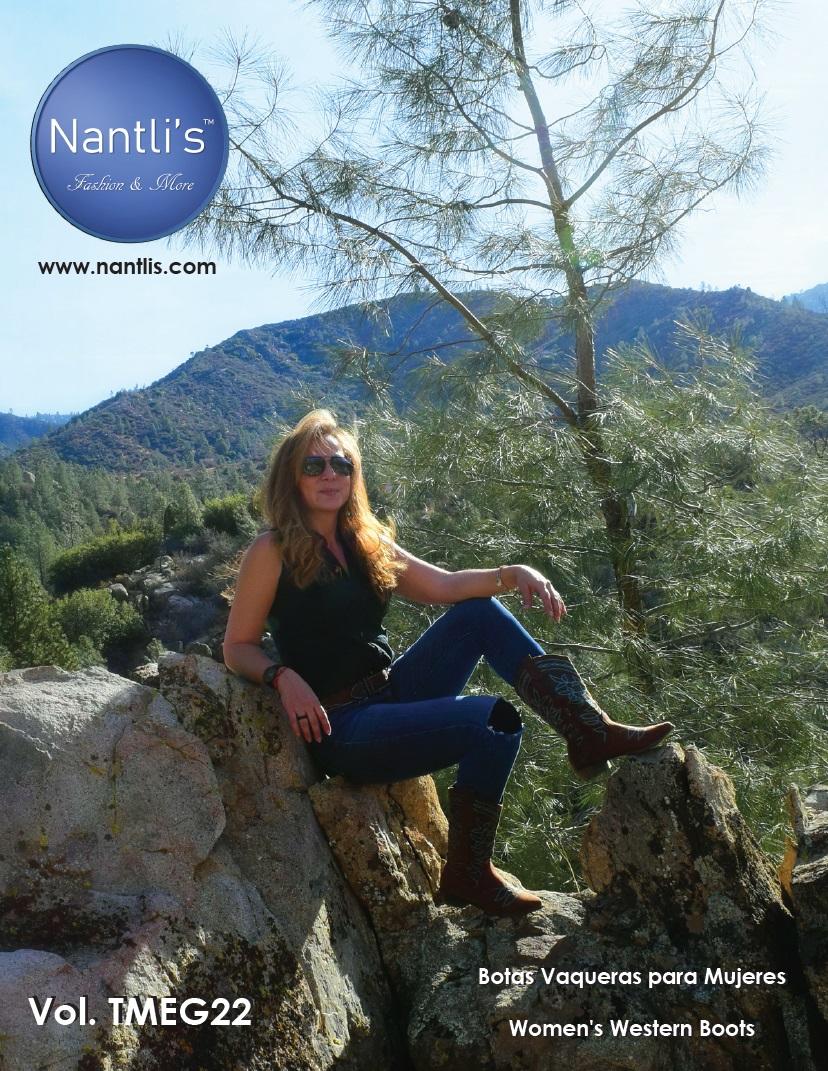 Nantlis Vol TMEG22 Botas de Vaqueras de Mujer mayoreo catalogo Wholesale Womens Western boots_Page_1