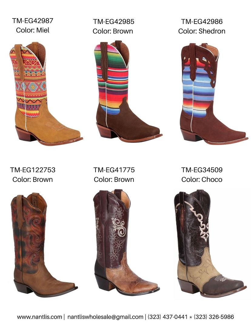 Nantlis Vol TMEG22 Botas de Vaqueras de Mujer mayoreo catalogo Wholesale Womens Western boots_Page_2