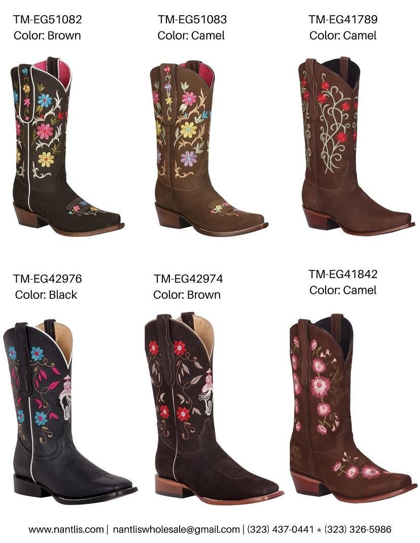 Nantlis Vol TMEG22 Botas de Vaqueras de Mujer mayoreo catalogo Wholesale Womens Western boots_Page_3