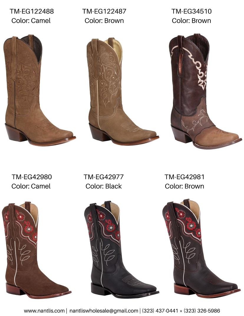 Nantlis Vol TMEG22 Botas de Vaqueras de Mujer mayoreo catalogo Wholesale Womens Western boots_Page_4